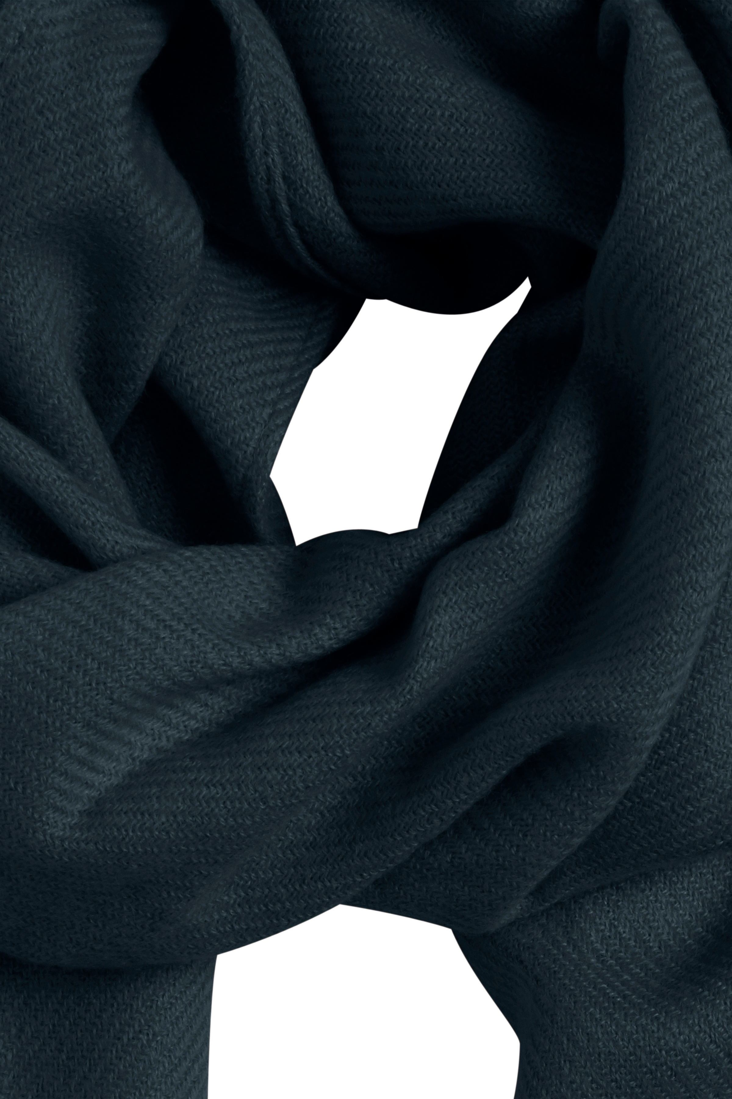 Mörkblå Scarf från Ichi - accessories – Köp Mörkblå Scarf från stl. ONE här
