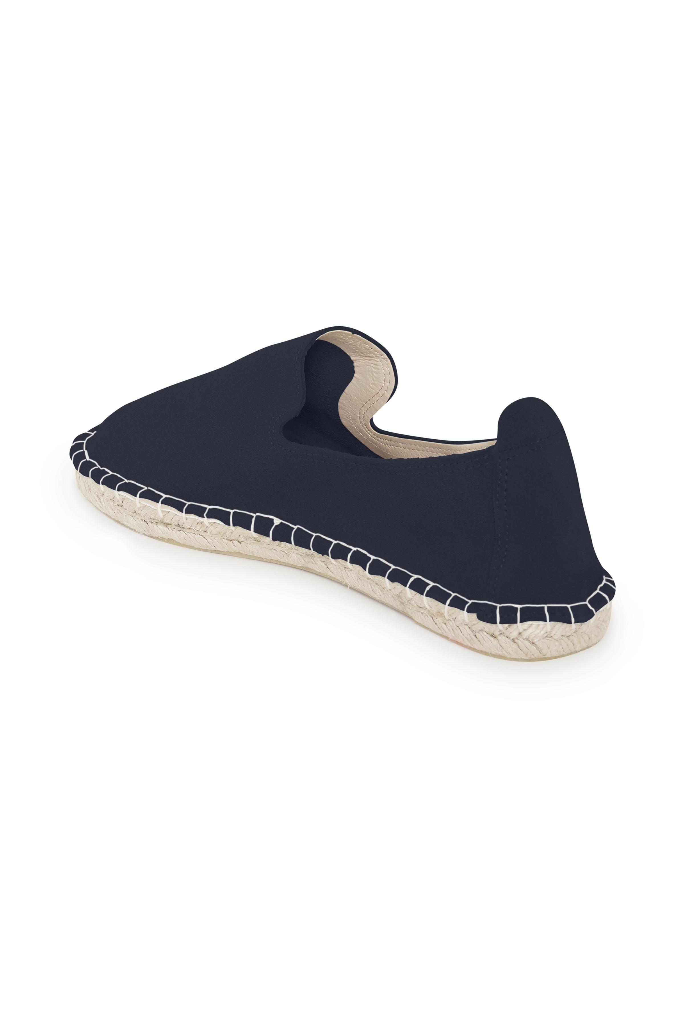 Mörkblå Skinnskor från Ichi - accessories – Köp Mörkblå Skinnskor från stl. 36-42 här