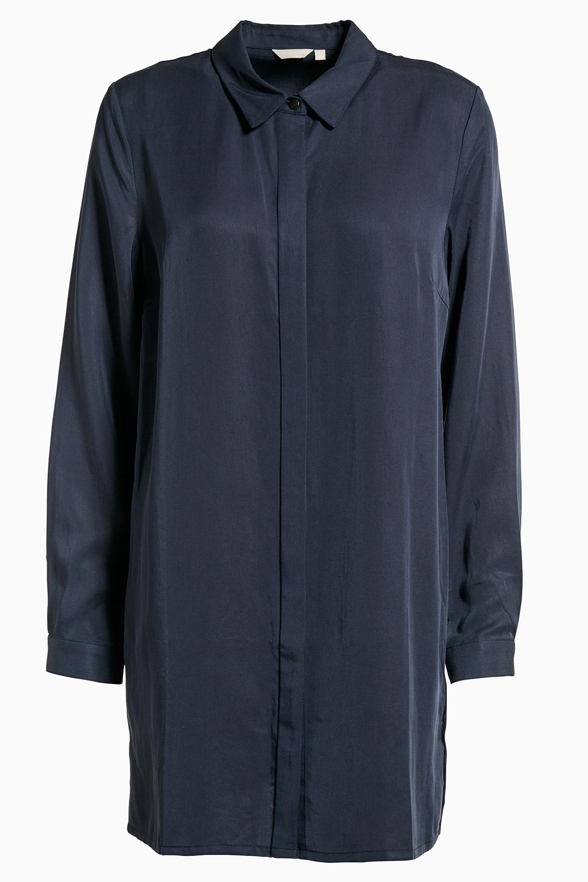 Mörkblå Tunika från Bon'A Parte – Köp Mörkblå Tunika från stl. S-3XL här