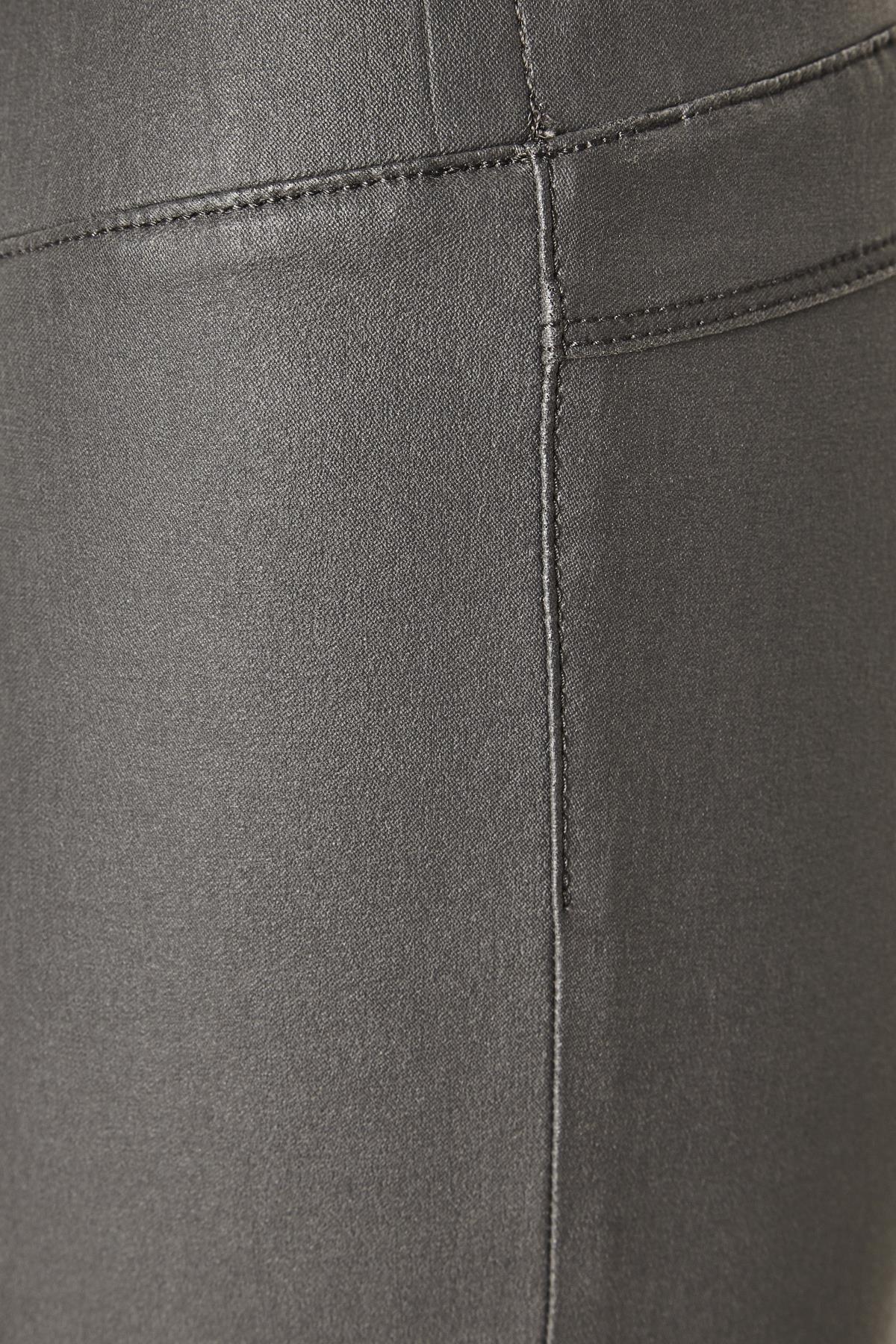 Mörkgrå Casual byxor från Kaffe – Köp Mörkgrå Casual byxor från stl. 34-46 här