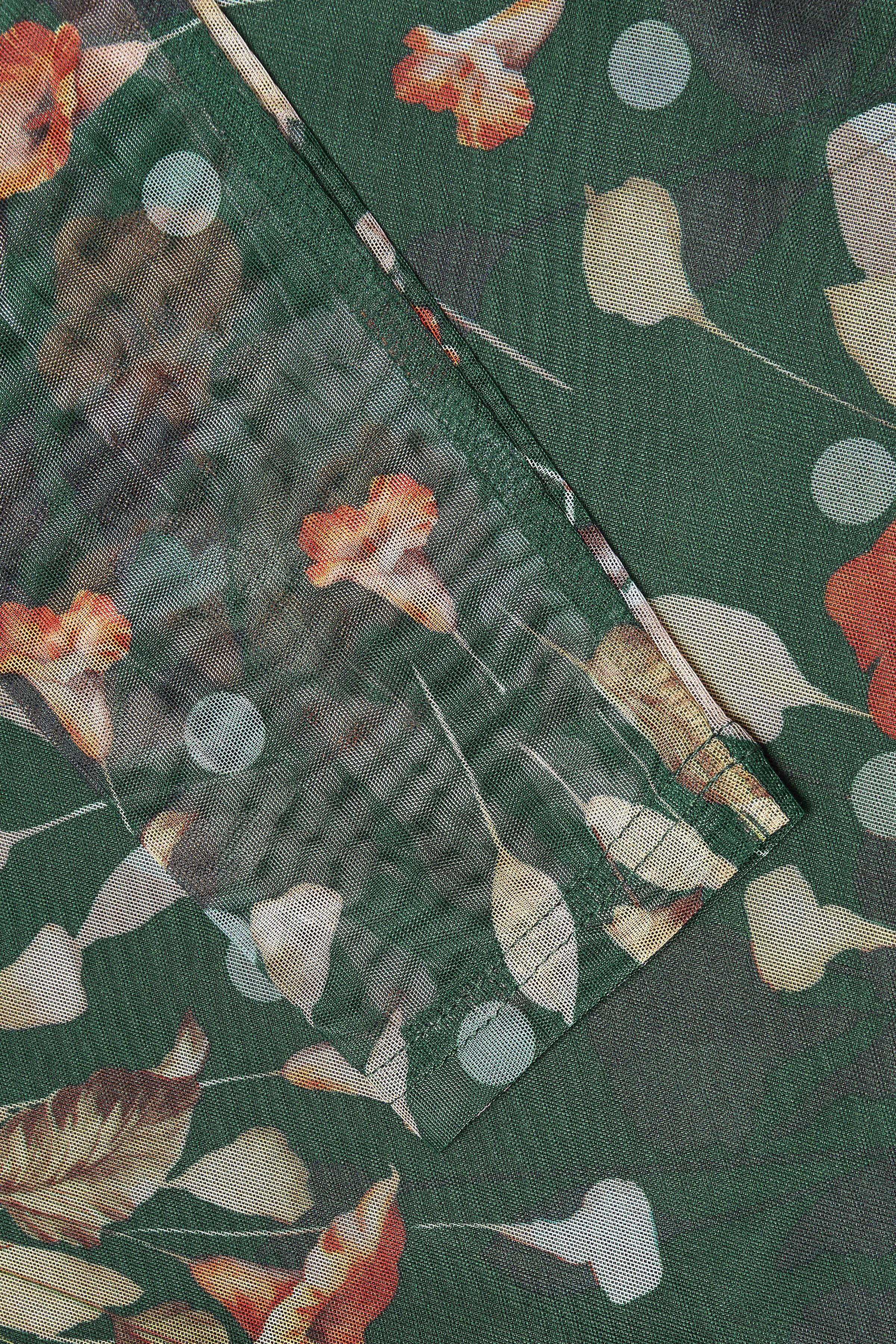Mörkgrön/bränd orange Långärmad blus från Kaffe – Köp Mörkgrön/bränd orange Långärmad blus från stl. XS-XXL här