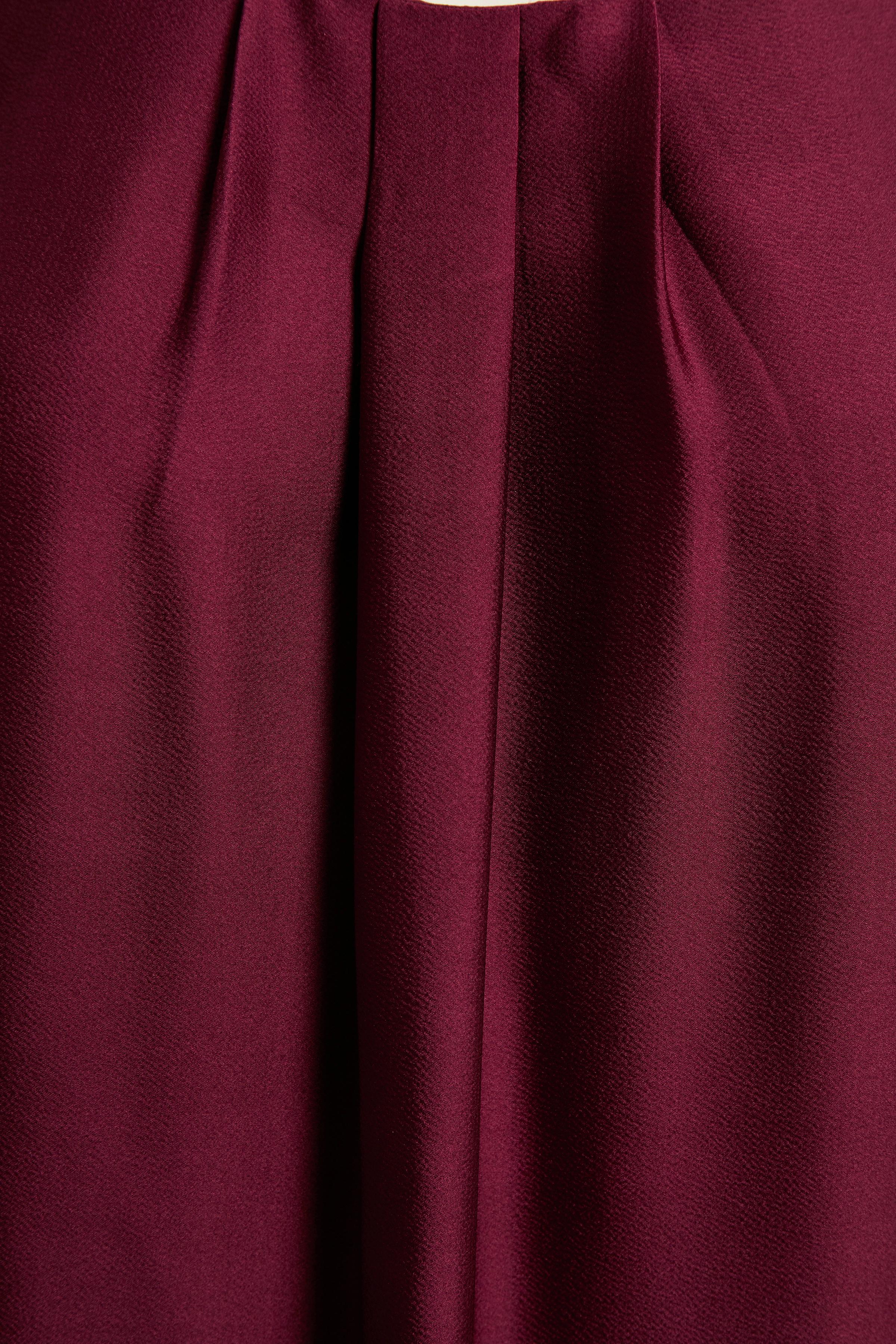 Mörkröd Klänning från Bon'A Parte – Köp Mörkröd Klänning från stl. S-2XL här