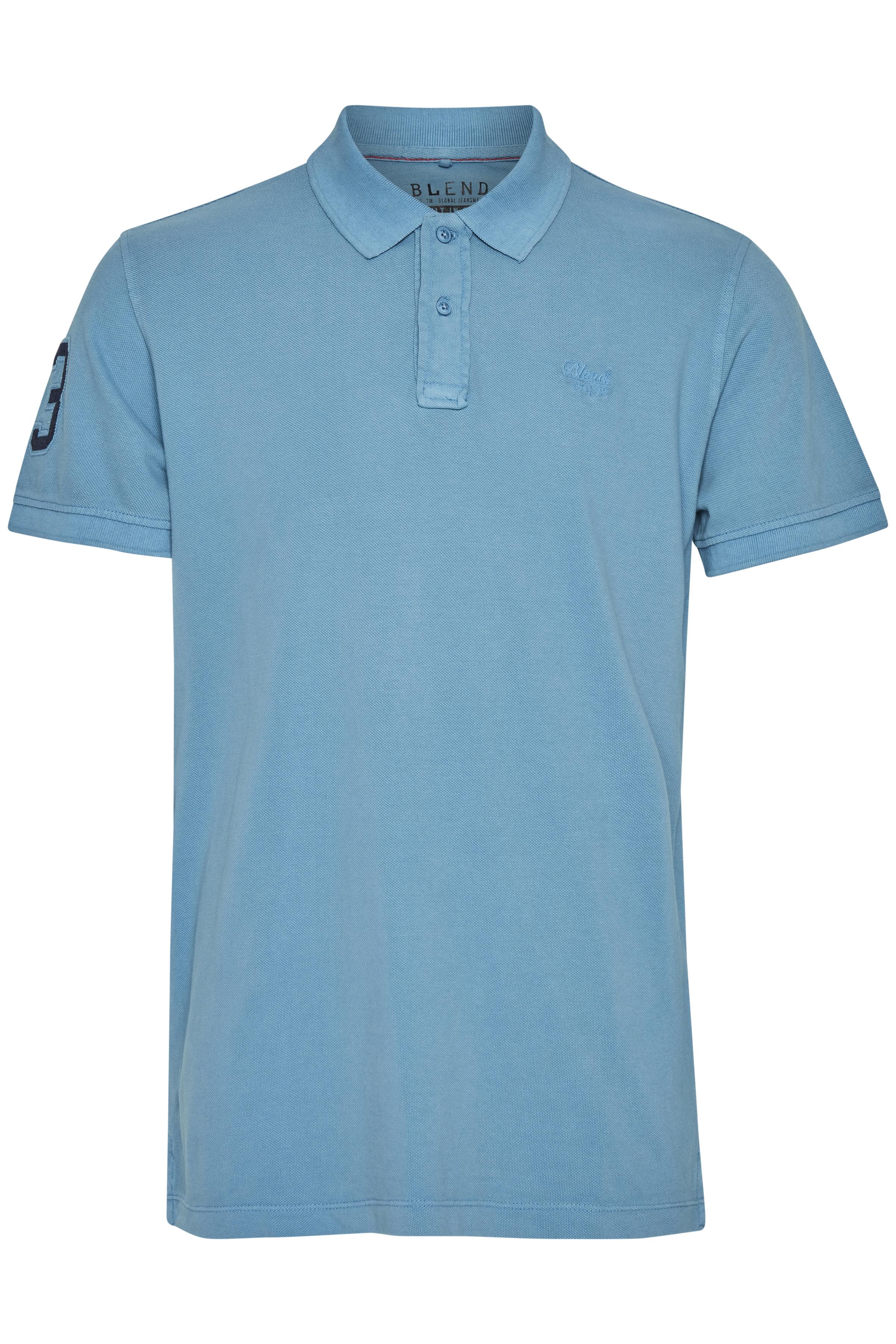 Image of   Blend He Herre Herre T-shirt - Niagara Blue