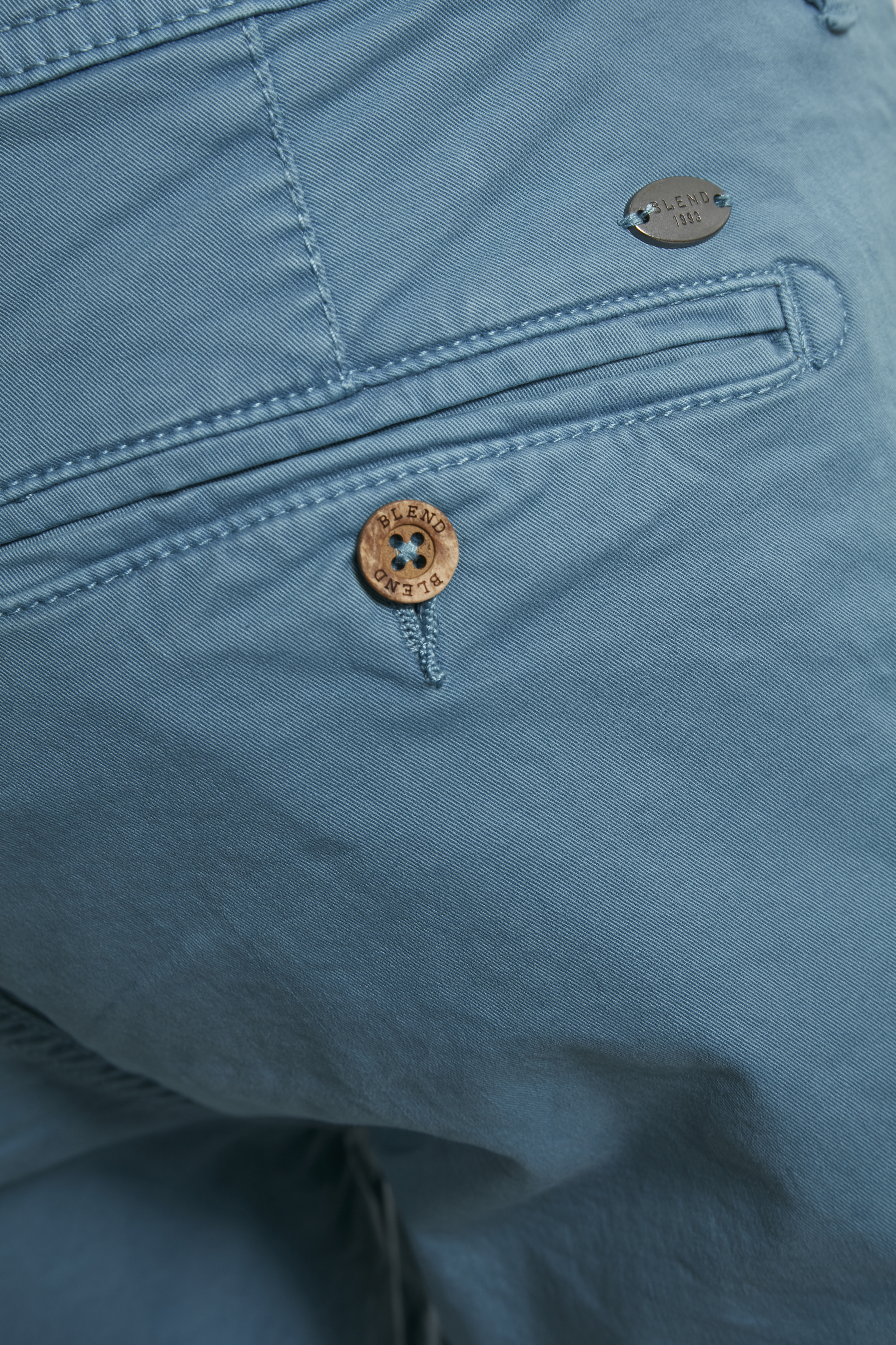 Niagara Blue Shorts fra Blend He – Køb Niagara Blue Shorts fra str. S-3XL her