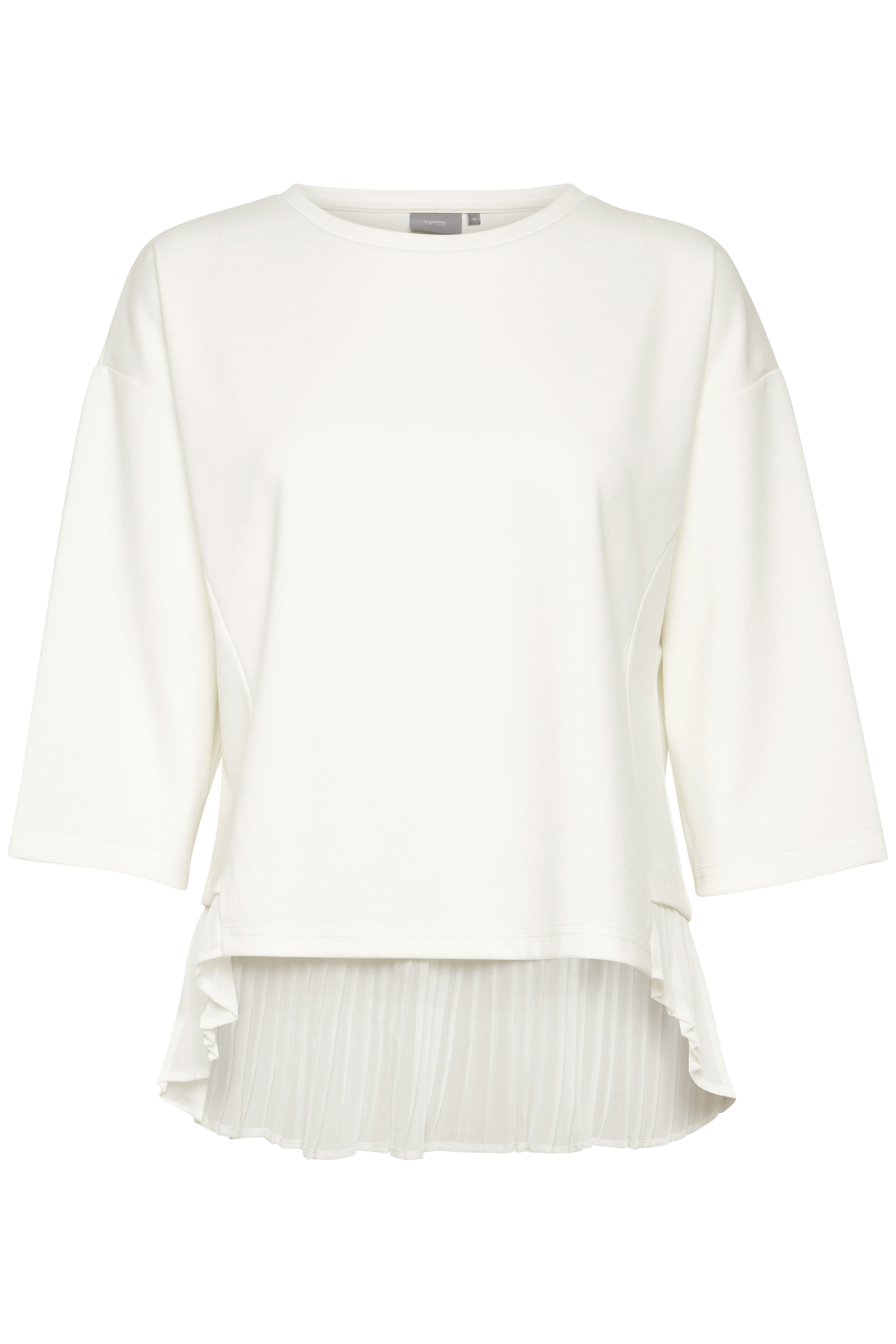 b.young Dame Blouse - Off-white