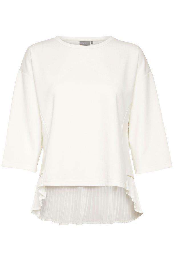 b7319457 Off-white Bluse fra b.young – Køb Off-white Bluse fra str. XS-XXL her