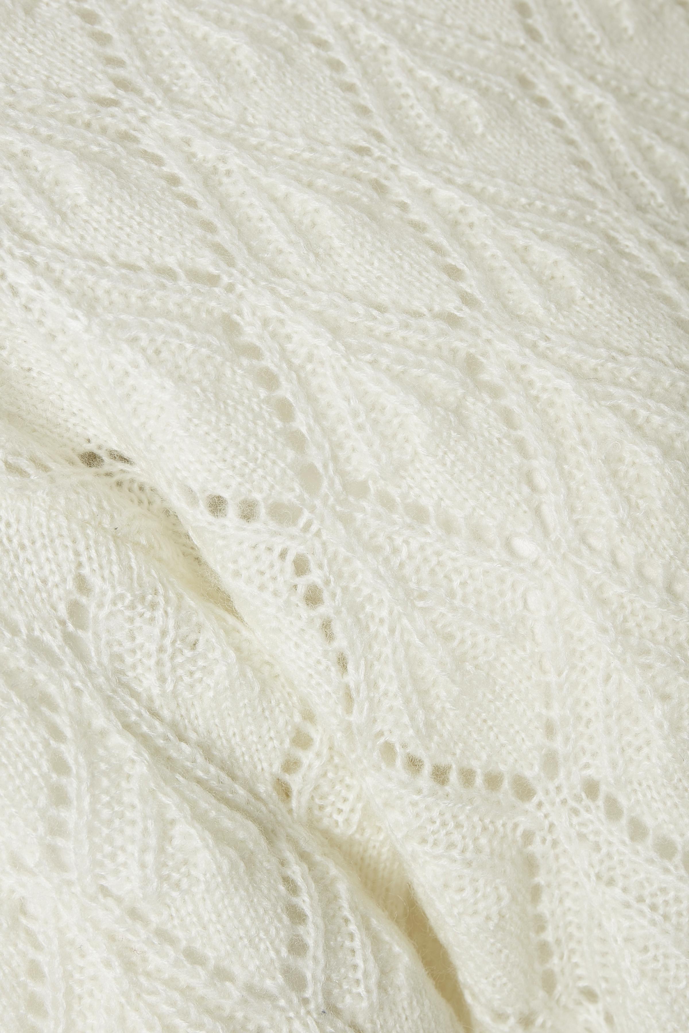 Off-white Gebreide trui van Kaffe – Door Off-white Gebreide trui van maat. XS-XXL hier
