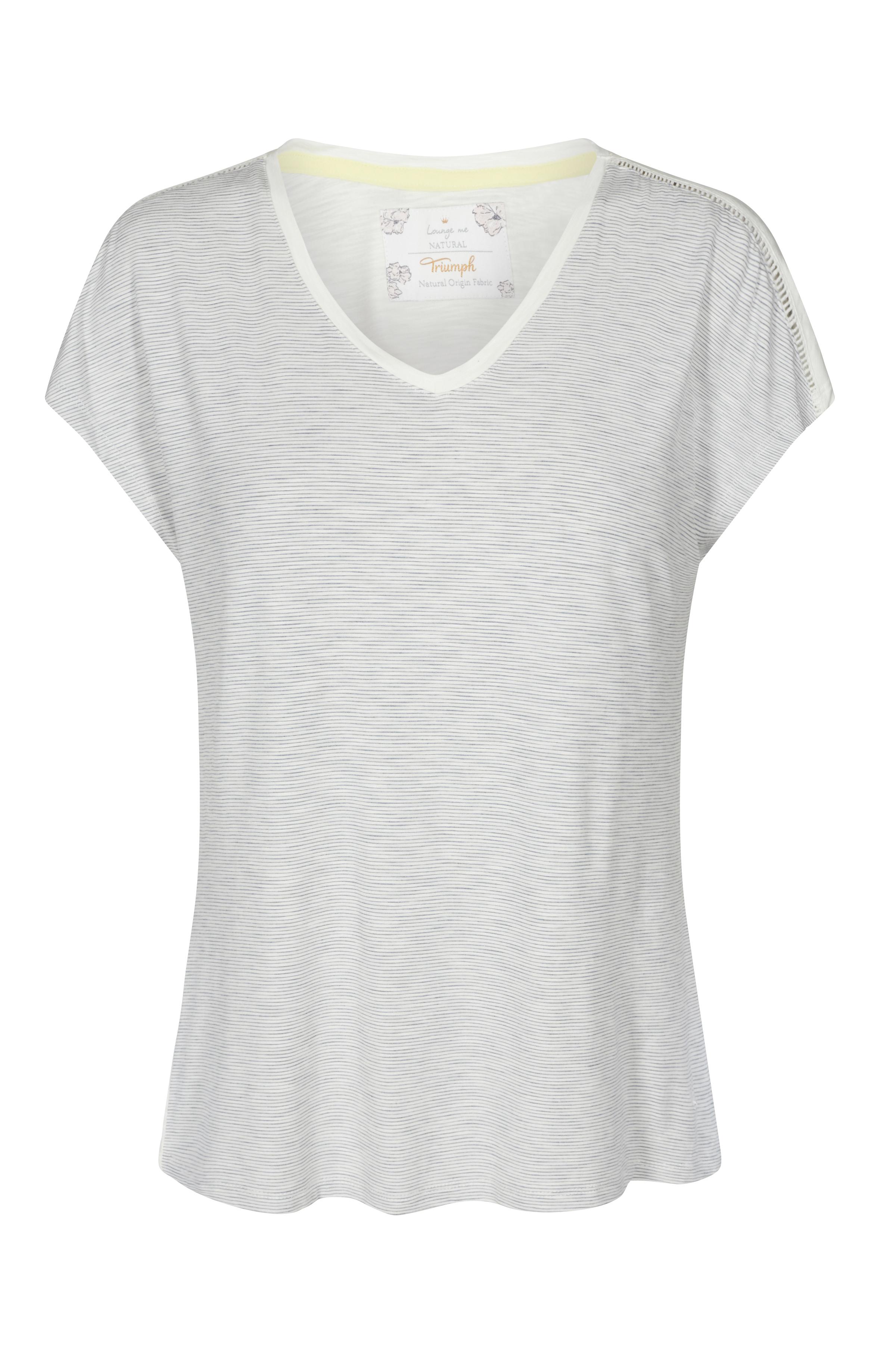 Image of Triumph Dame Homewear sæt - Off-white/grå