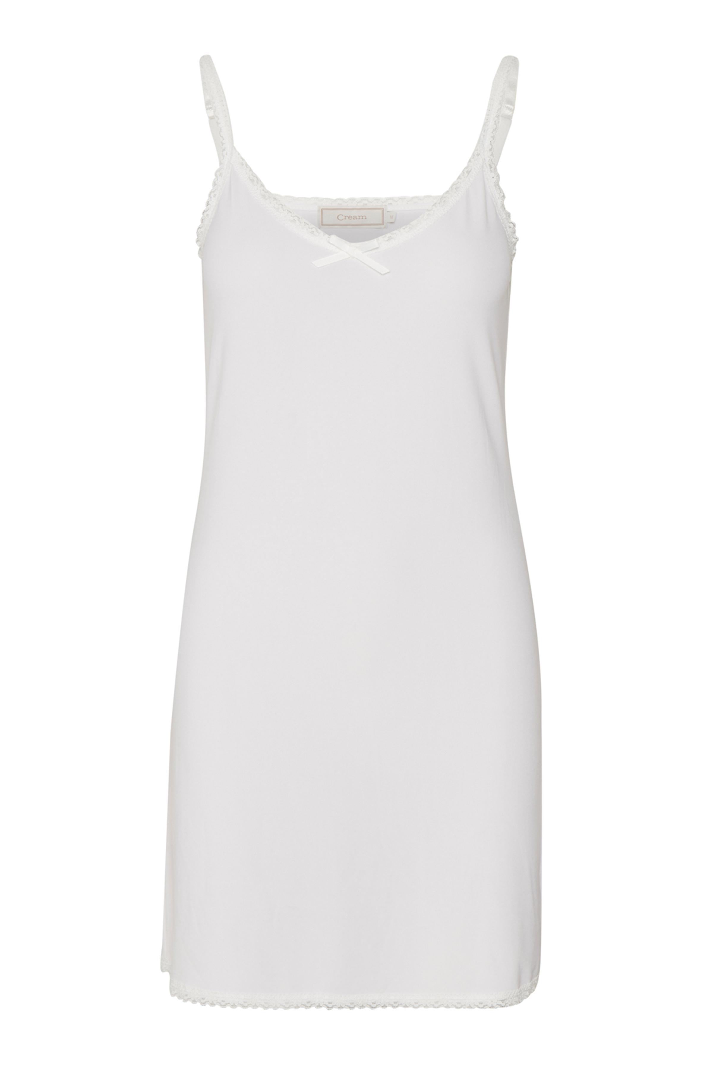 Off-white Klänning från Cream – Köp Off-white Klänning från stl. XS-XXL här