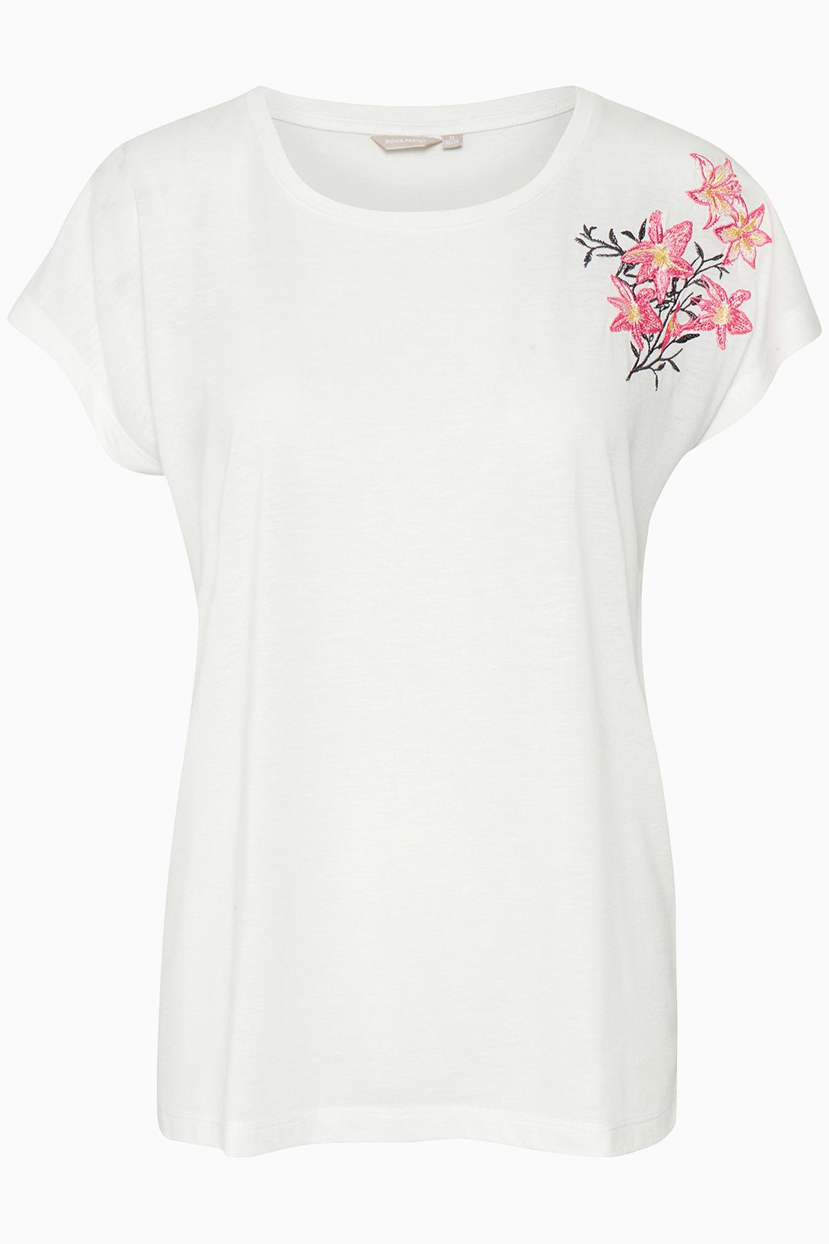 Image of BonA Parte Dame Virkelig sød Idalia T-shirt - Off-white