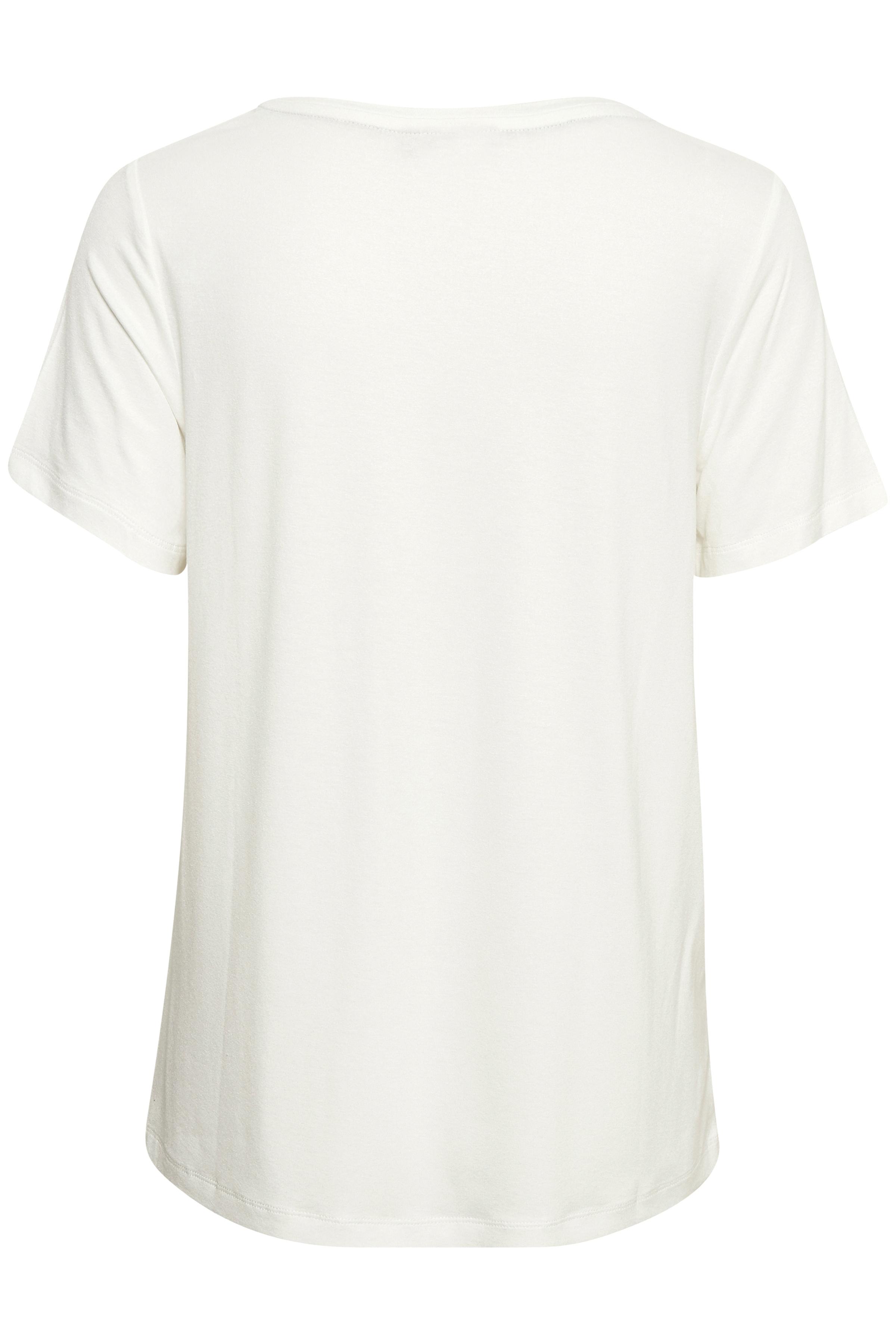 Off-white Kortærmet T-shirt fra Bon'A Parte – Køb Off-white Kortærmet T-shirt fra str. S-2XL her