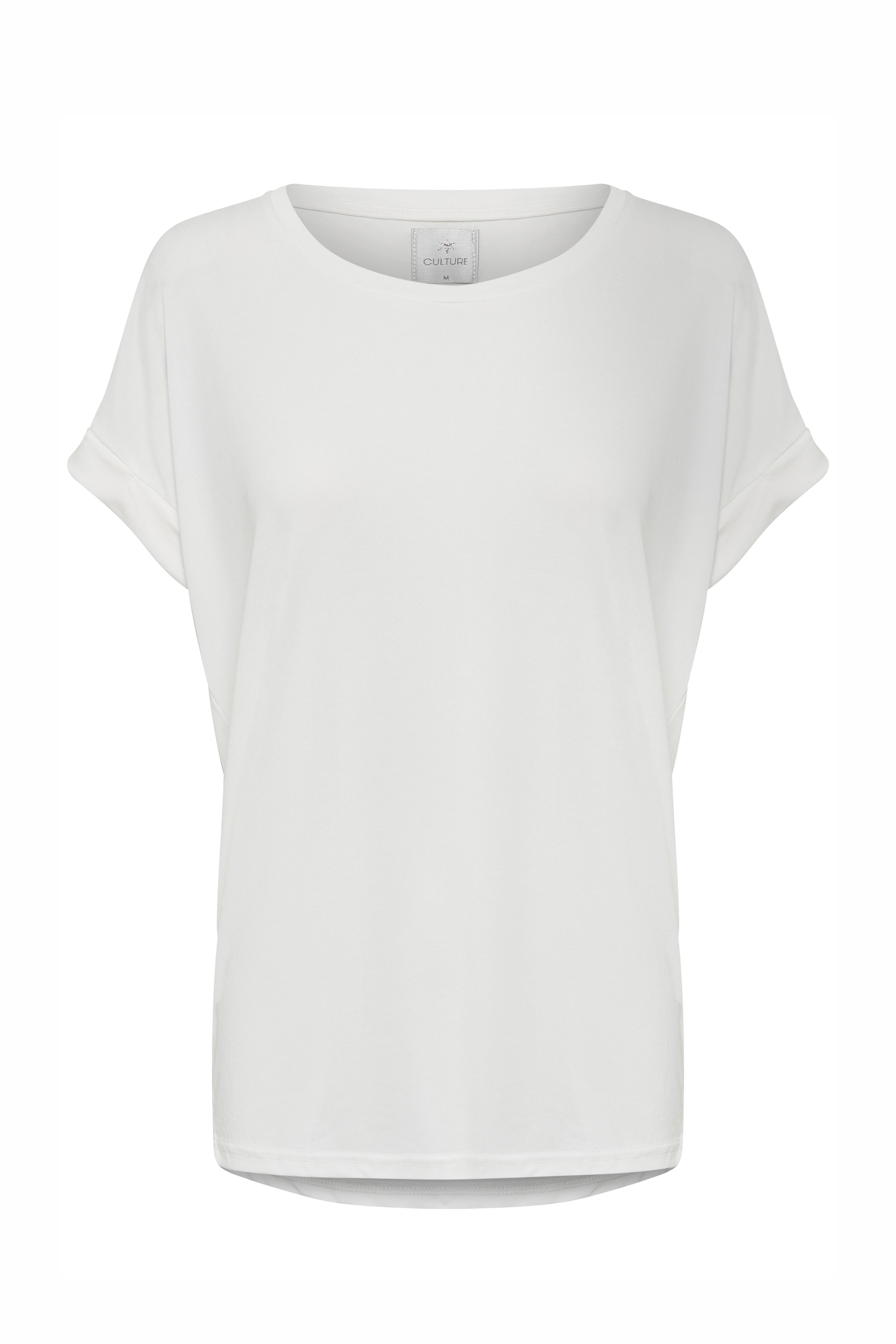 Image of Culture Dame Kortærmet T-shirt - Off-white
