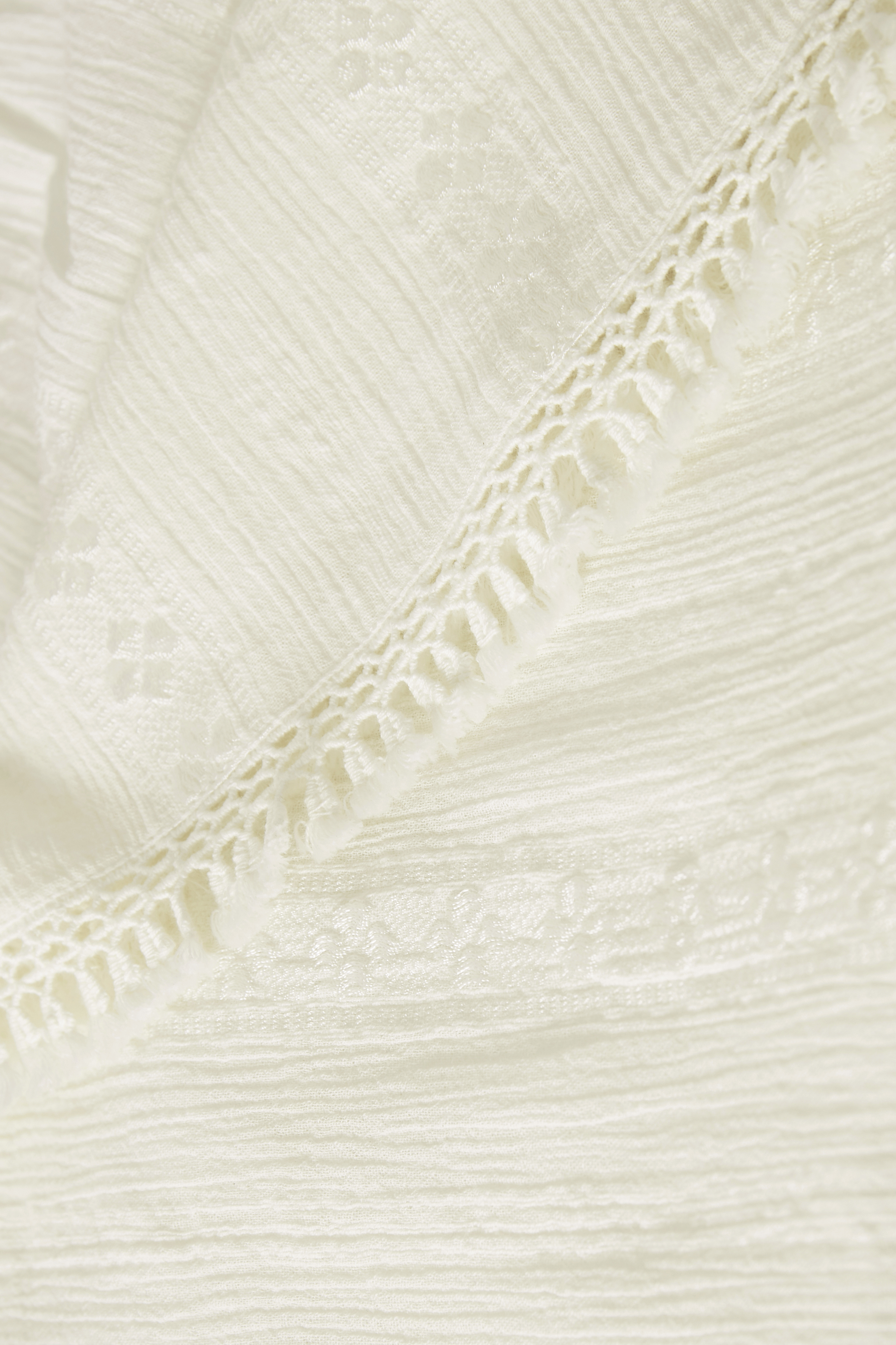 Off-white Kortärmad blus  från Bon'A Parte – Köp Off-white Kortärmad blus  från stl. S-2XL här