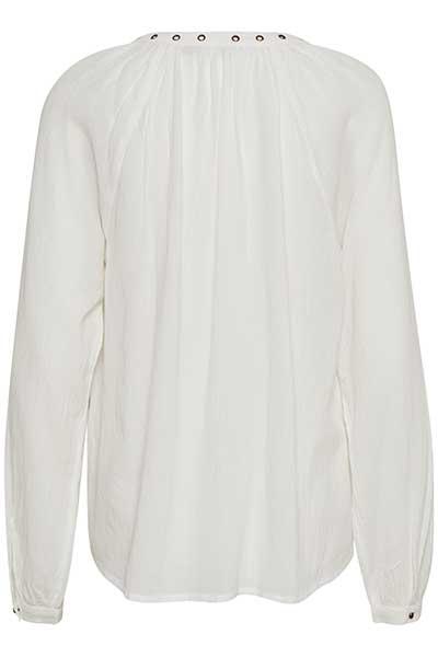 Off-white Långärmad blus från Bon'A Parte – Köp Off-white Långärmad blus från stl. S-2XL här