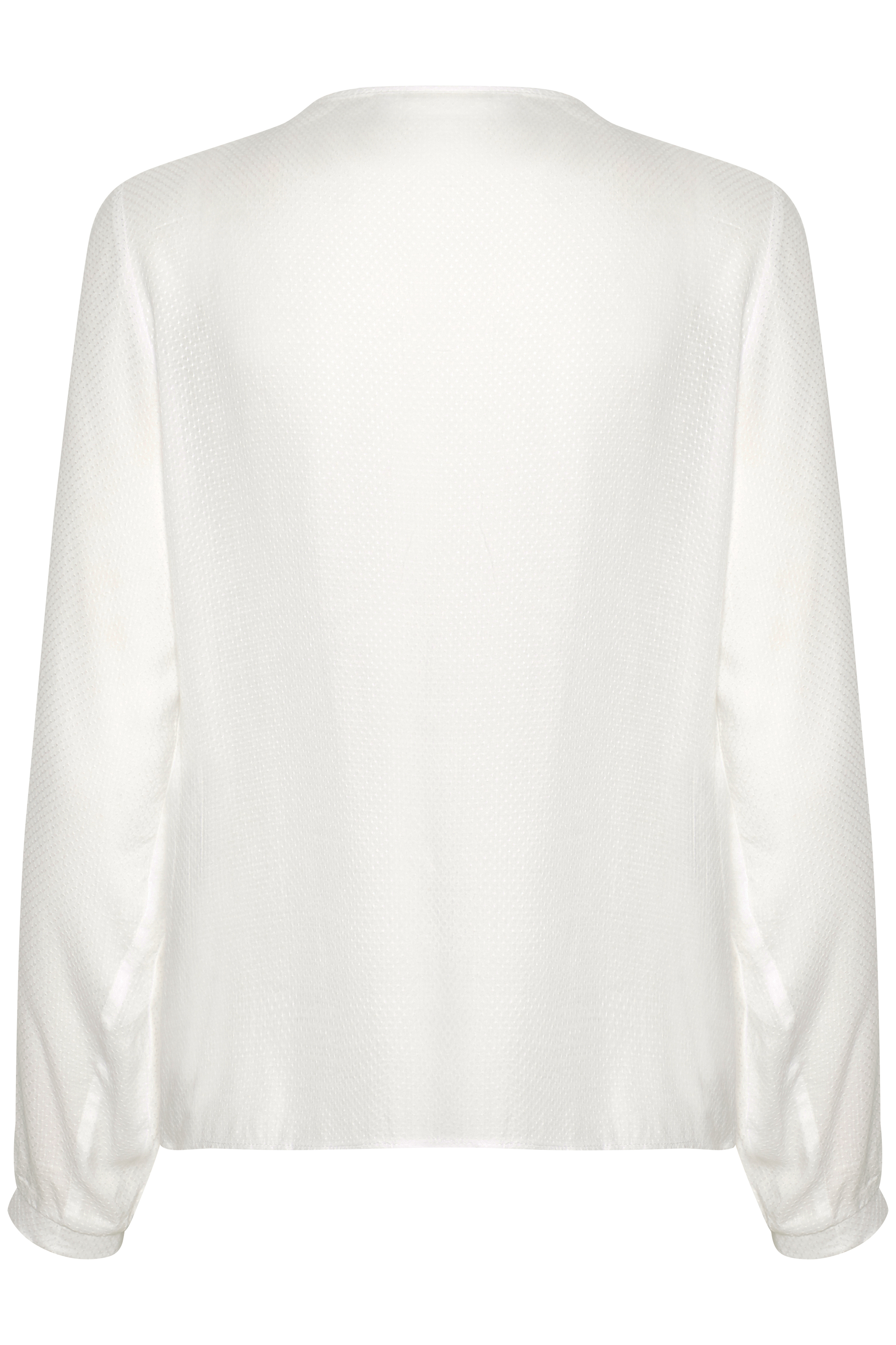 Off-white Långärmad blus från Cream – Köp Off-white Långärmad blus från stl. 34-46 här