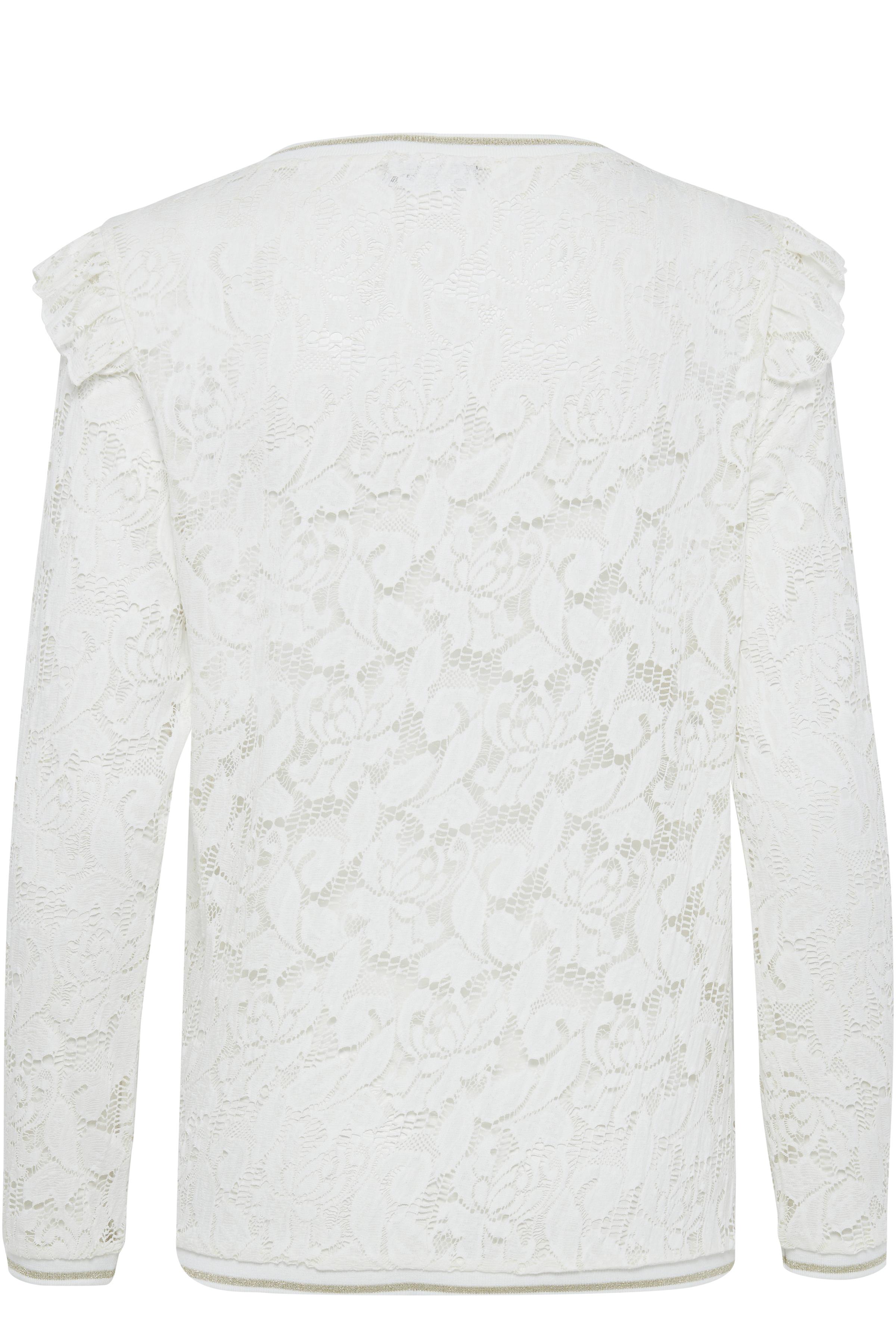 Off-white Langærmet bluse fra Fransa – Køb Off-white Langærmet bluse fra str. XS-XXL her