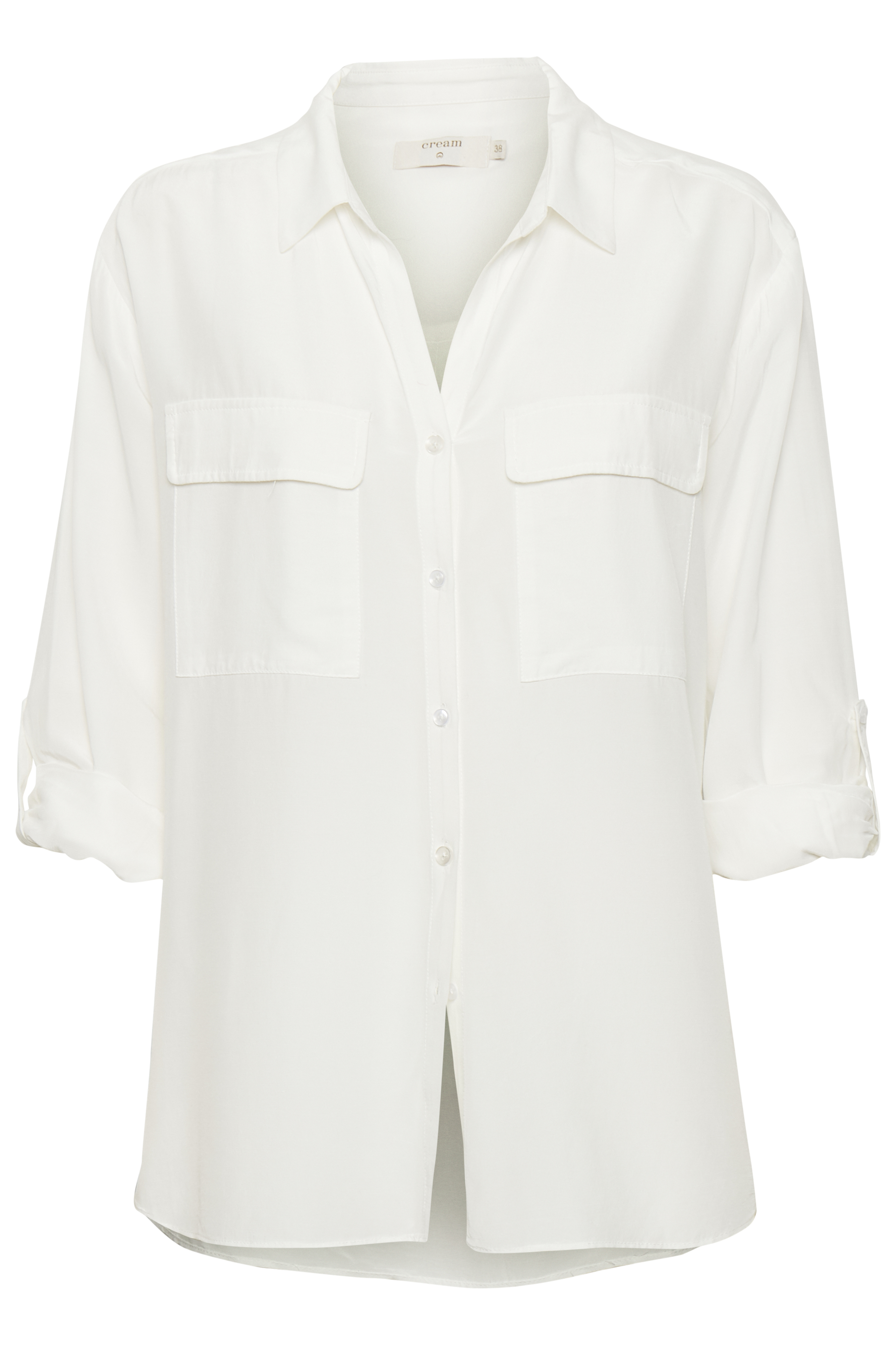 Image of Cream Dame Skjorte - Off-white