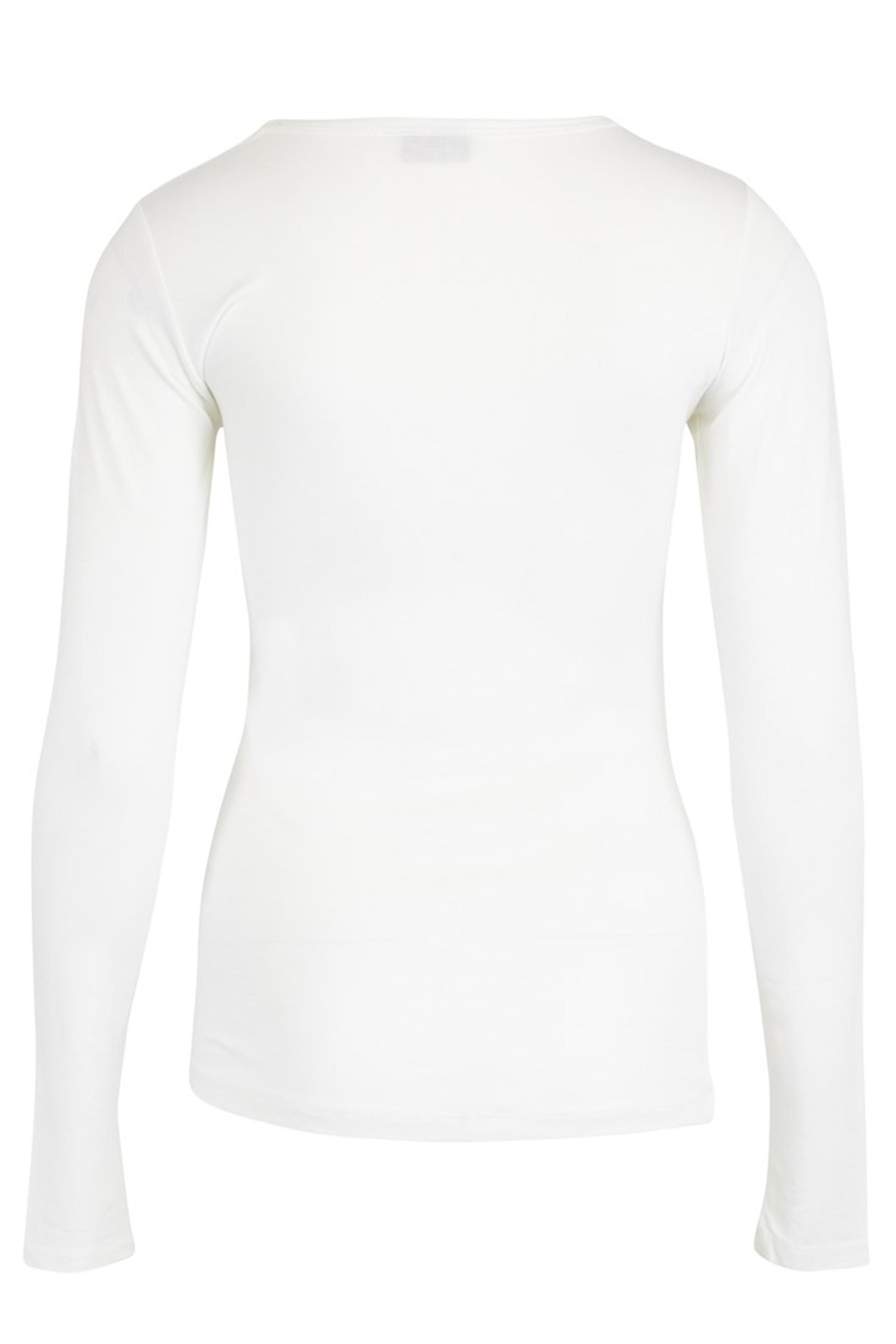 Off-white Langærmet T-shirt fra Fransa – Køb Off-white Langærmet T-shirt fra str. XS-XXL her