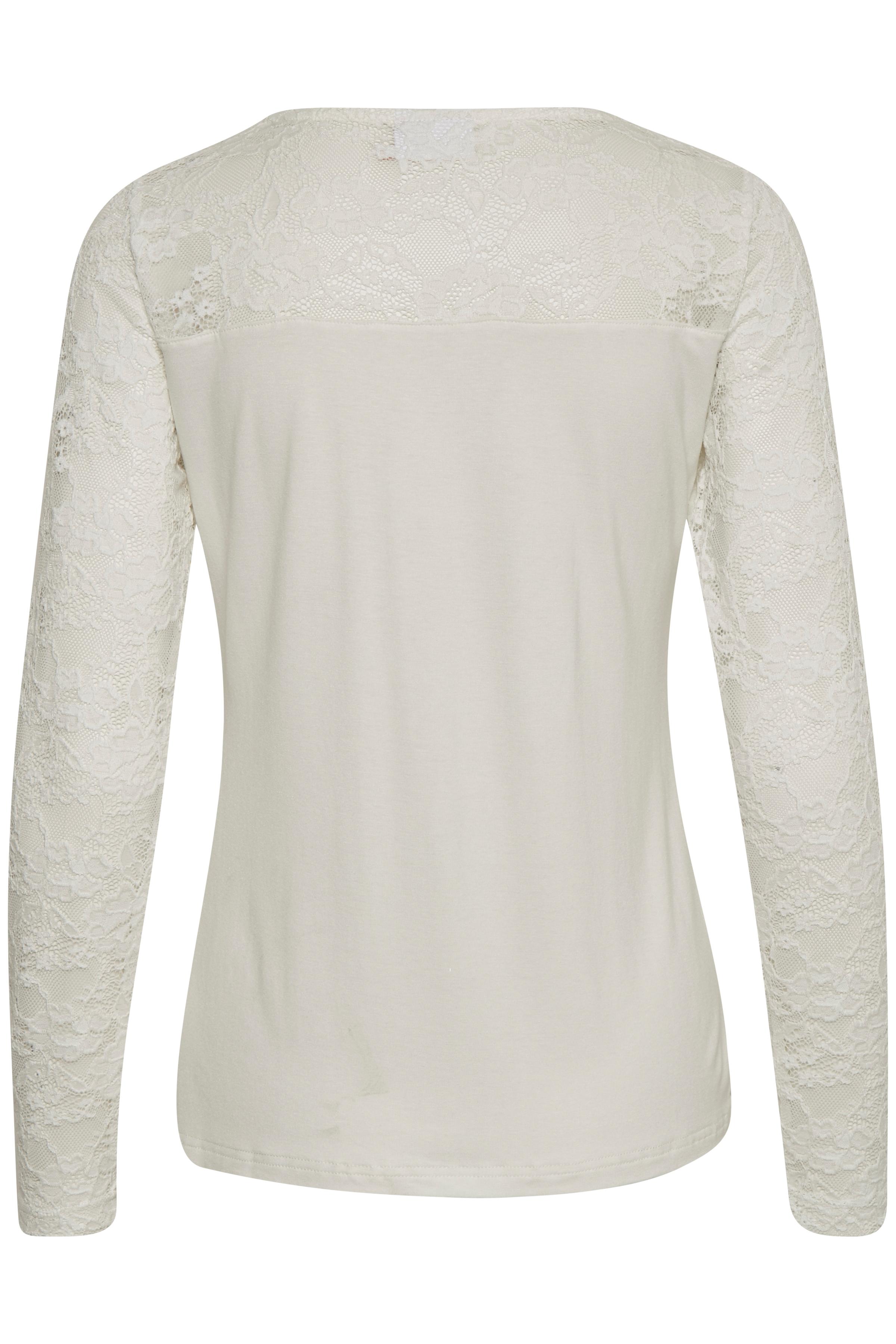 Off-white Langærmet T-shirt fra Kaffe – Køb Off-white Langærmet T-shirt fra str. XS-XXL her