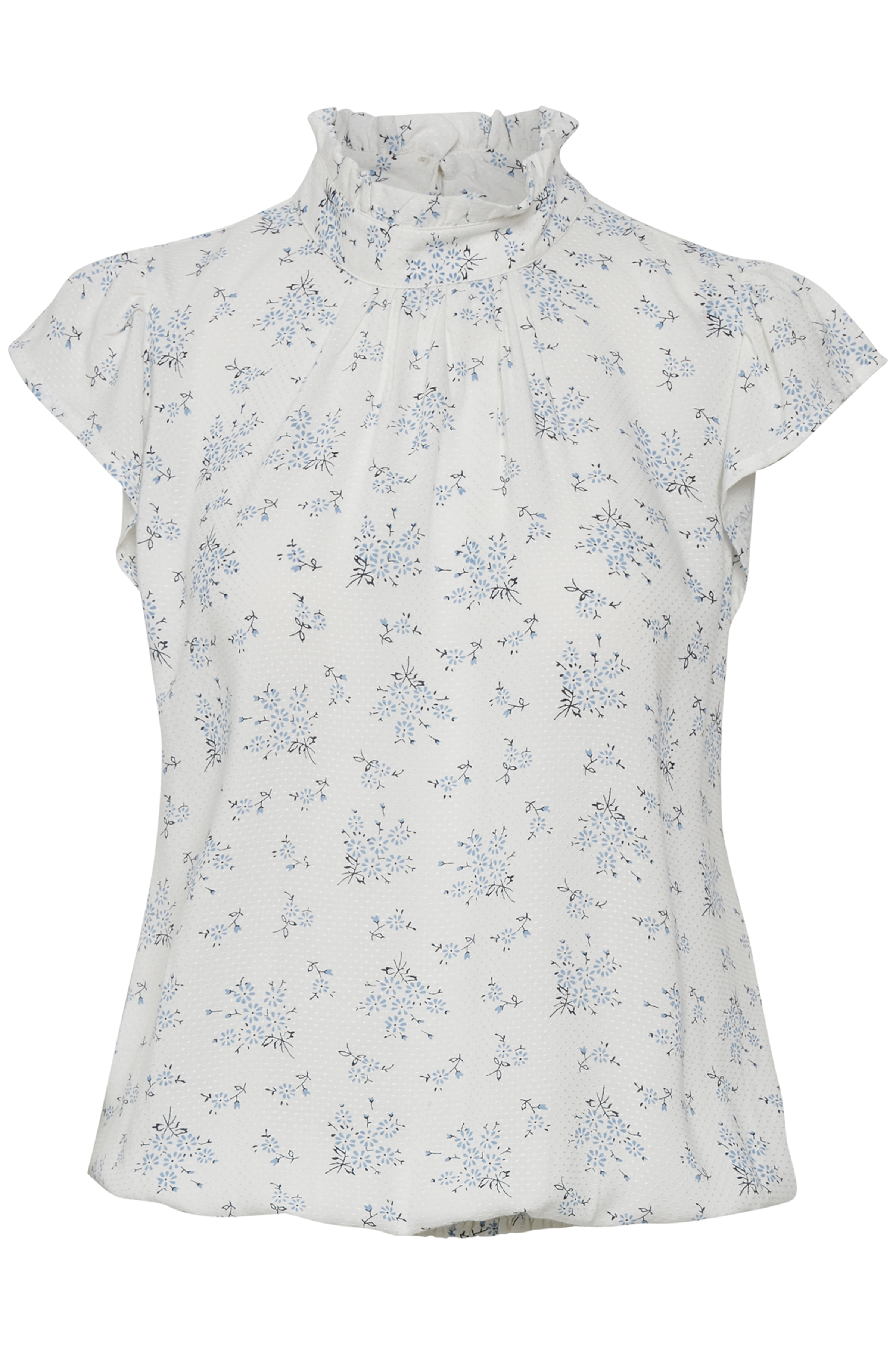 Off-white/lyseblå