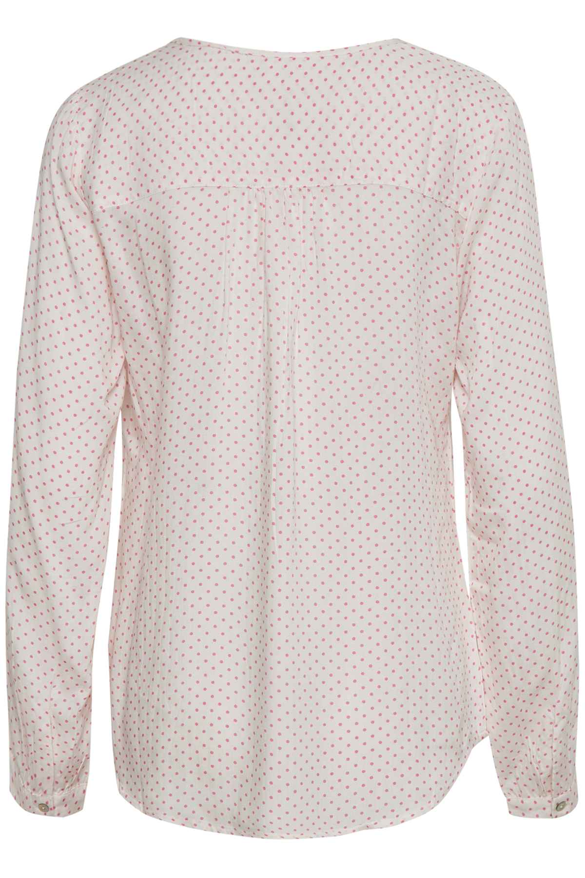 Off-white/rosa Langærmet bluse fra Kaffe – Køb Off-white/rosa Langærmet bluse fra str. 34-46 her