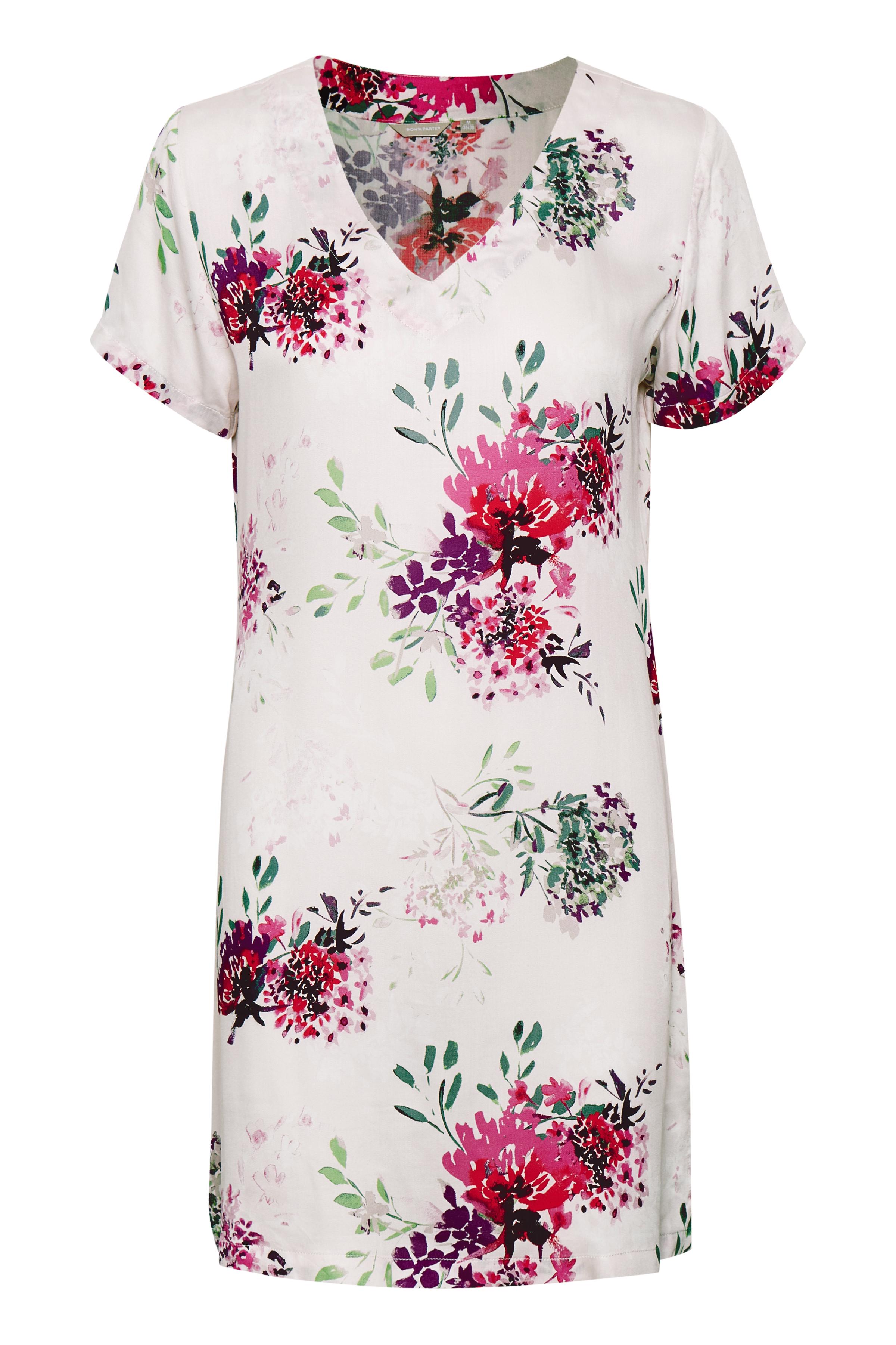 Off-white/rosa Tunika fra Bon'A Parte – Køb Off-white/rosa Tunika fra str. S-2XL her
