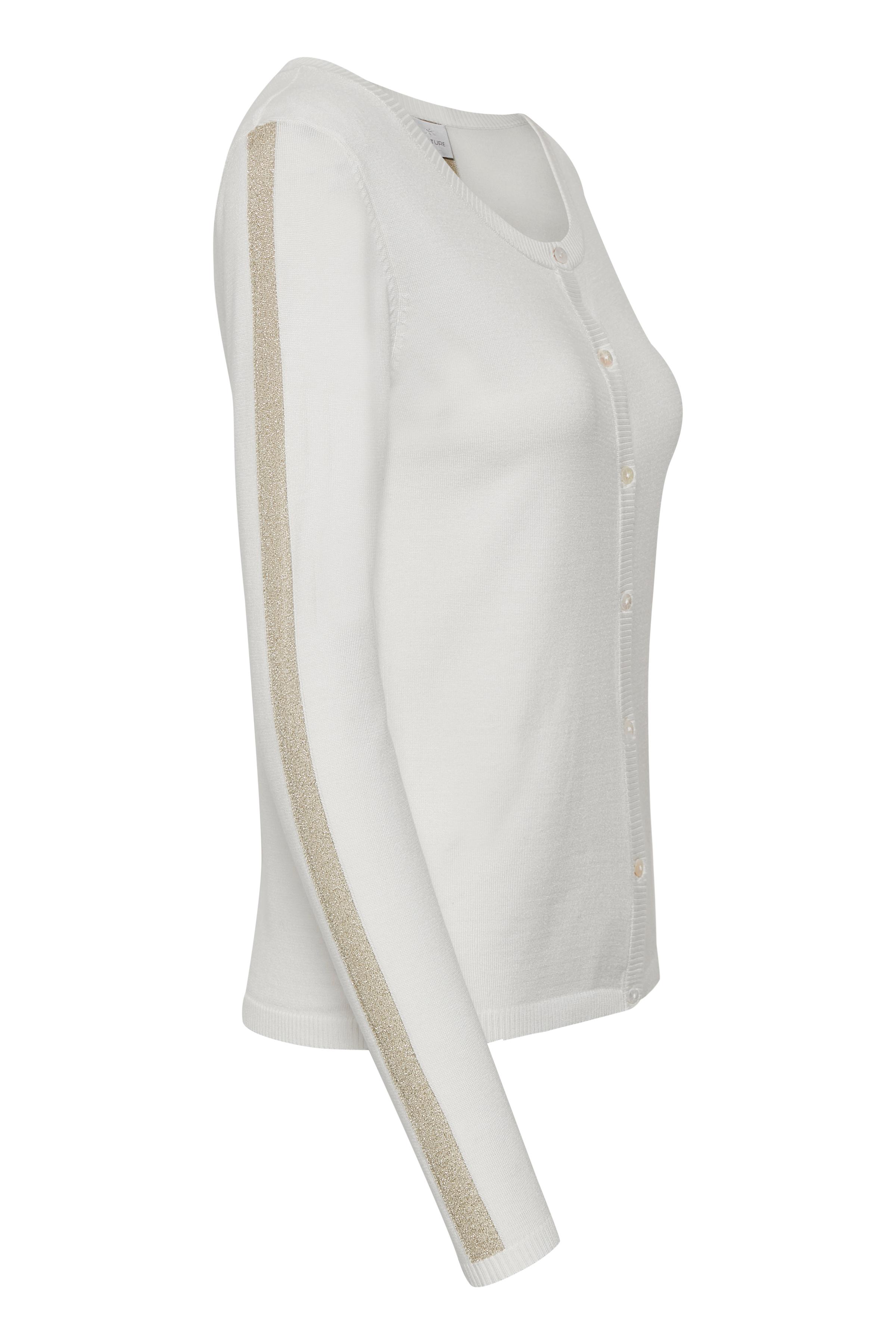 Off-white Stickad cardigan från Culture – Köp Off-white Stickad cardigan från stl. XS-XXL här