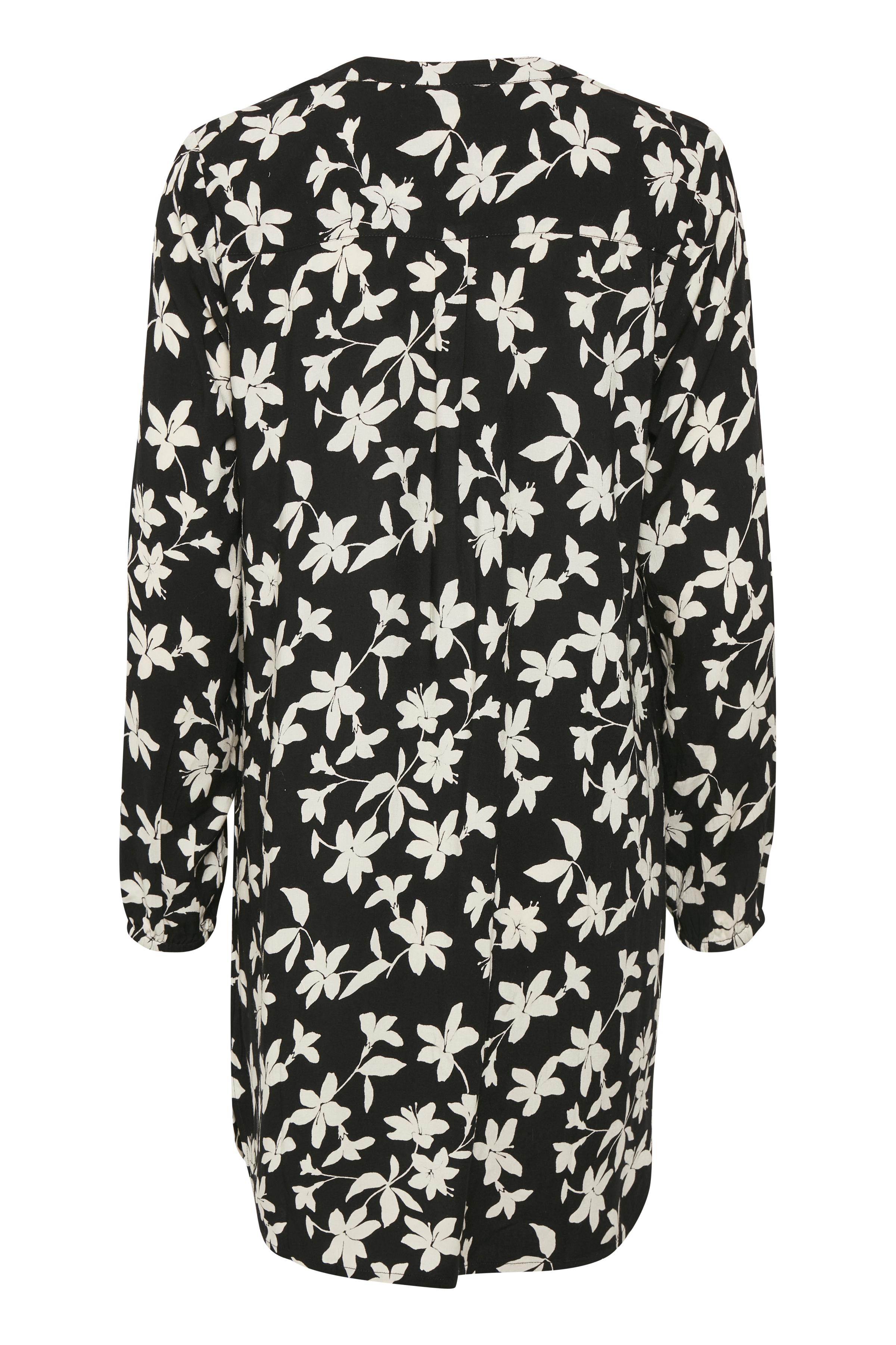 Off-white/svart Tunika från Bon'A Parte – Köp Off-white/svart Tunika från stl. S-2XL här