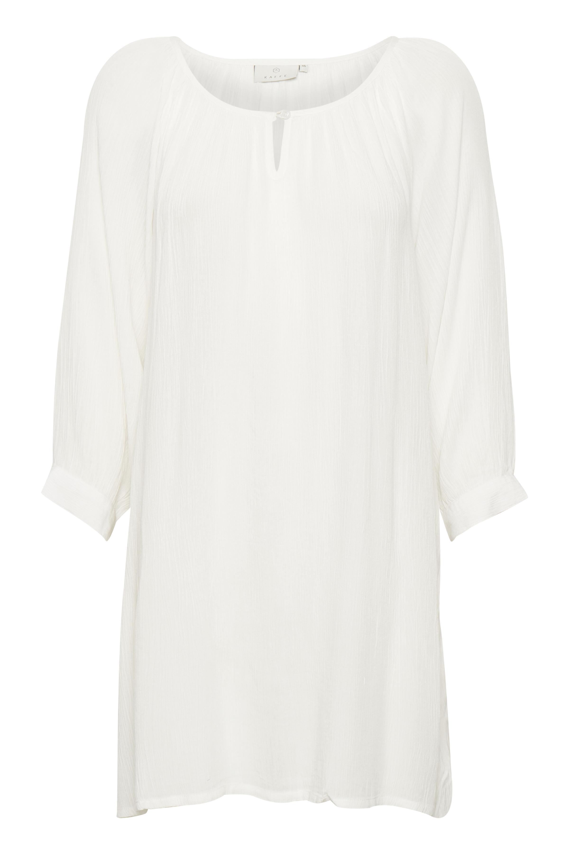 Off-white Tunika från Kaffe – Köp Off-white Tunika från stl. 34-46 här