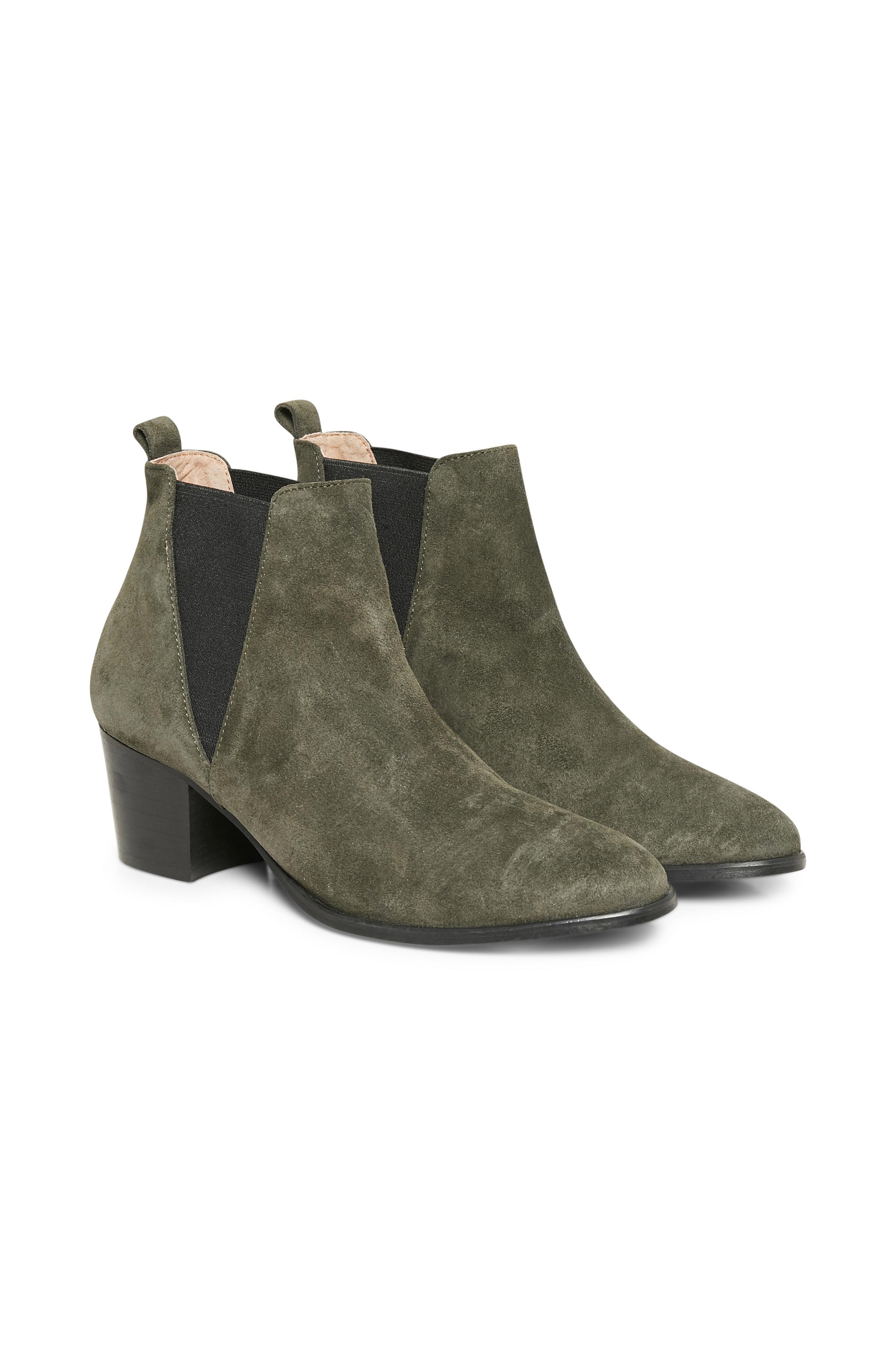 Oliven Støvler fra Cream Accessories – Køb Oliven Støvler fra str. 36-41 her