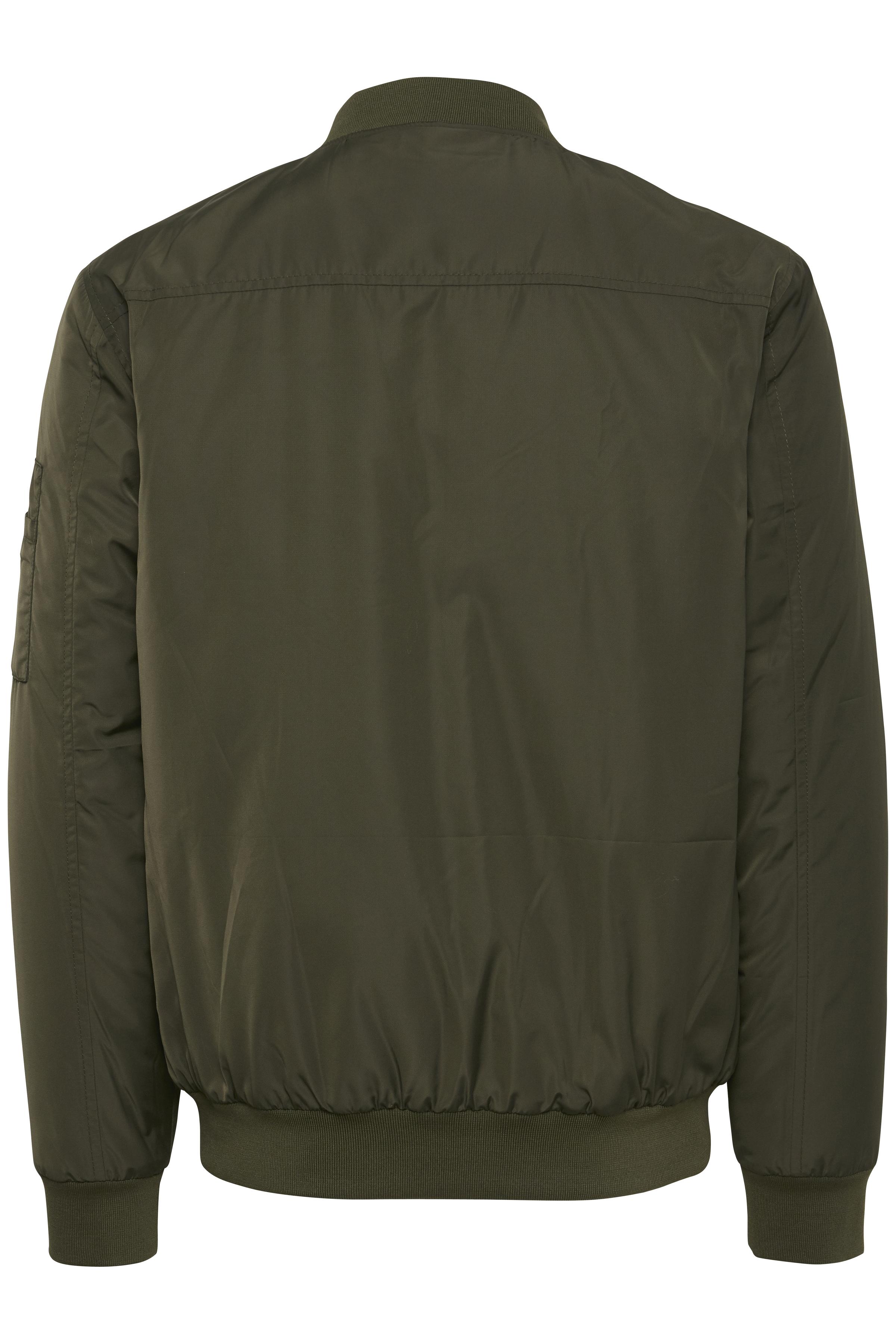 Olivengrøn Frakke fra Blend He – Køb Olivengrøn Frakke fra str. S-3XL her