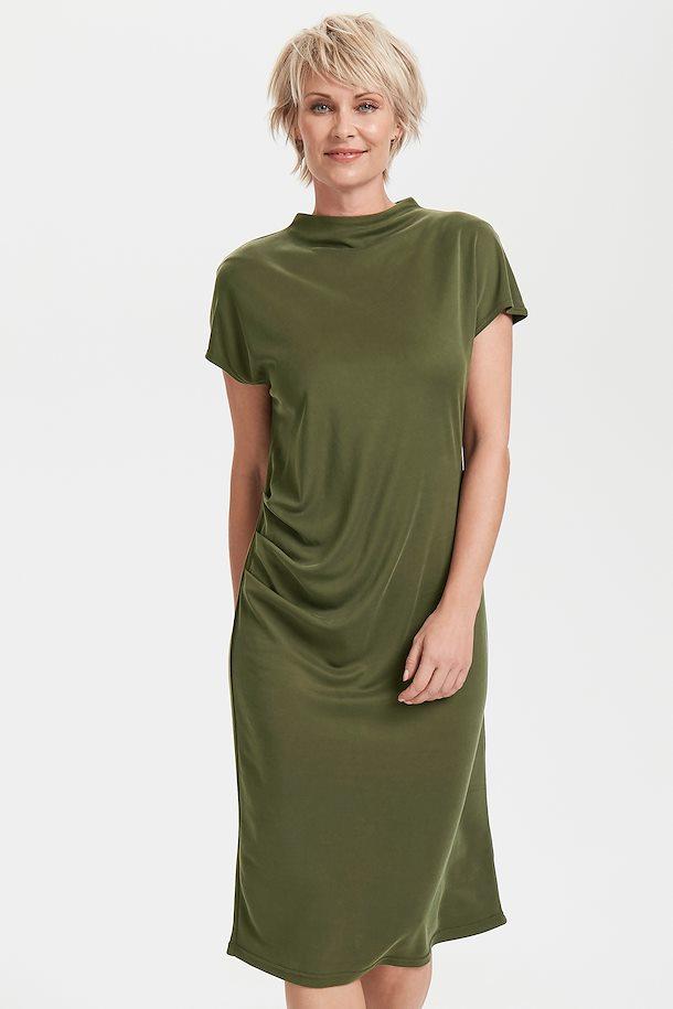 08558ecd4d0c Olivengrøn Kjole fra Culture – Køb Olivengrøn Kjole fra str. XS-XXL her