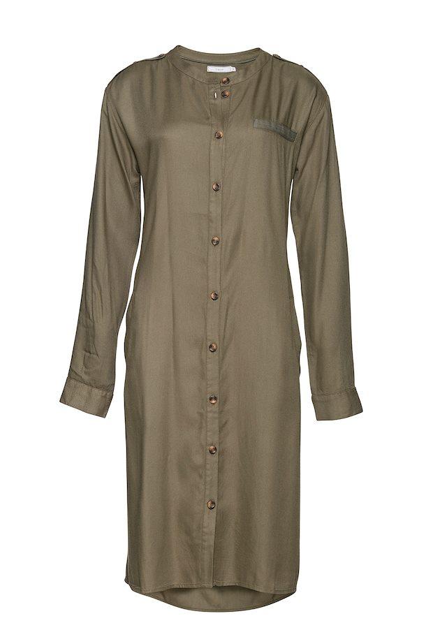 82d770b08475 Olivengrøn Langærmet skjorte fra Fransa – Køb Olivengrøn Langærmet skjorte  fra str. XS-XXL her