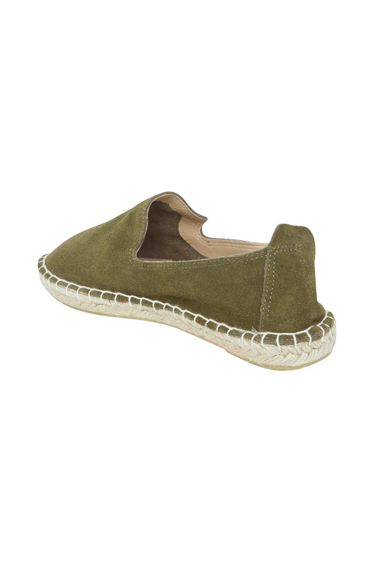 Olivgrün Schuh von Ichi - accessories – Shoppen Sie Olivgrün Schuh ab Gr. 36-42 hier