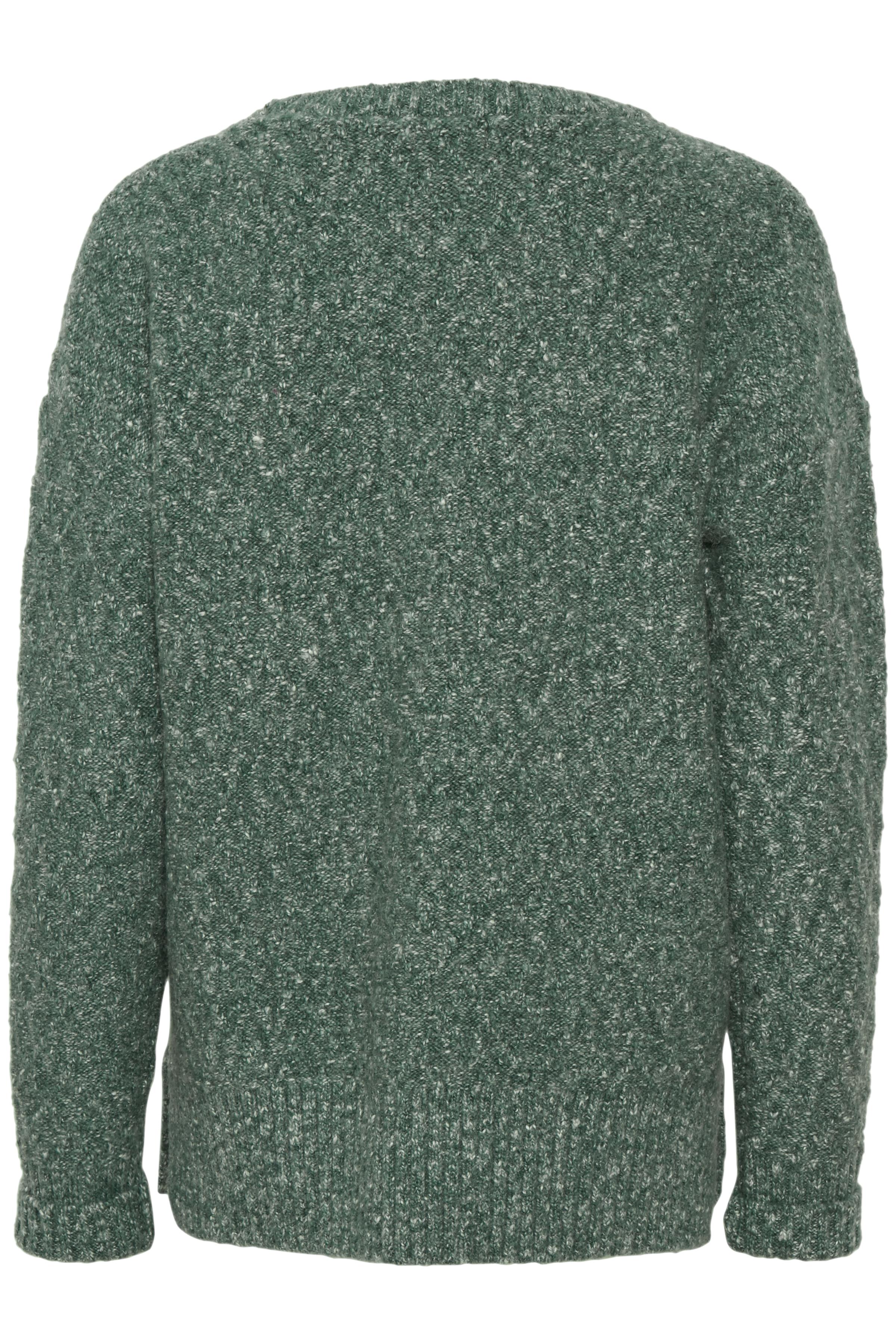 Opalmelerad Stickad pullover från Bon'A Parte – Köp Opalmelerad Stickad pullover från stl. S-2XL här