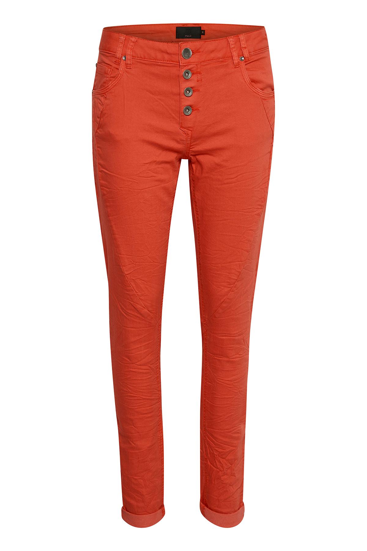 Orange Casual bukser fra Pulz Jeans – Køb Orange Casual bukser fra str. 32-46 her