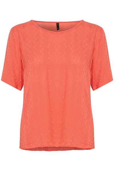 Image of   Pulz Jeans Dame Smart Meria bluse - Orange