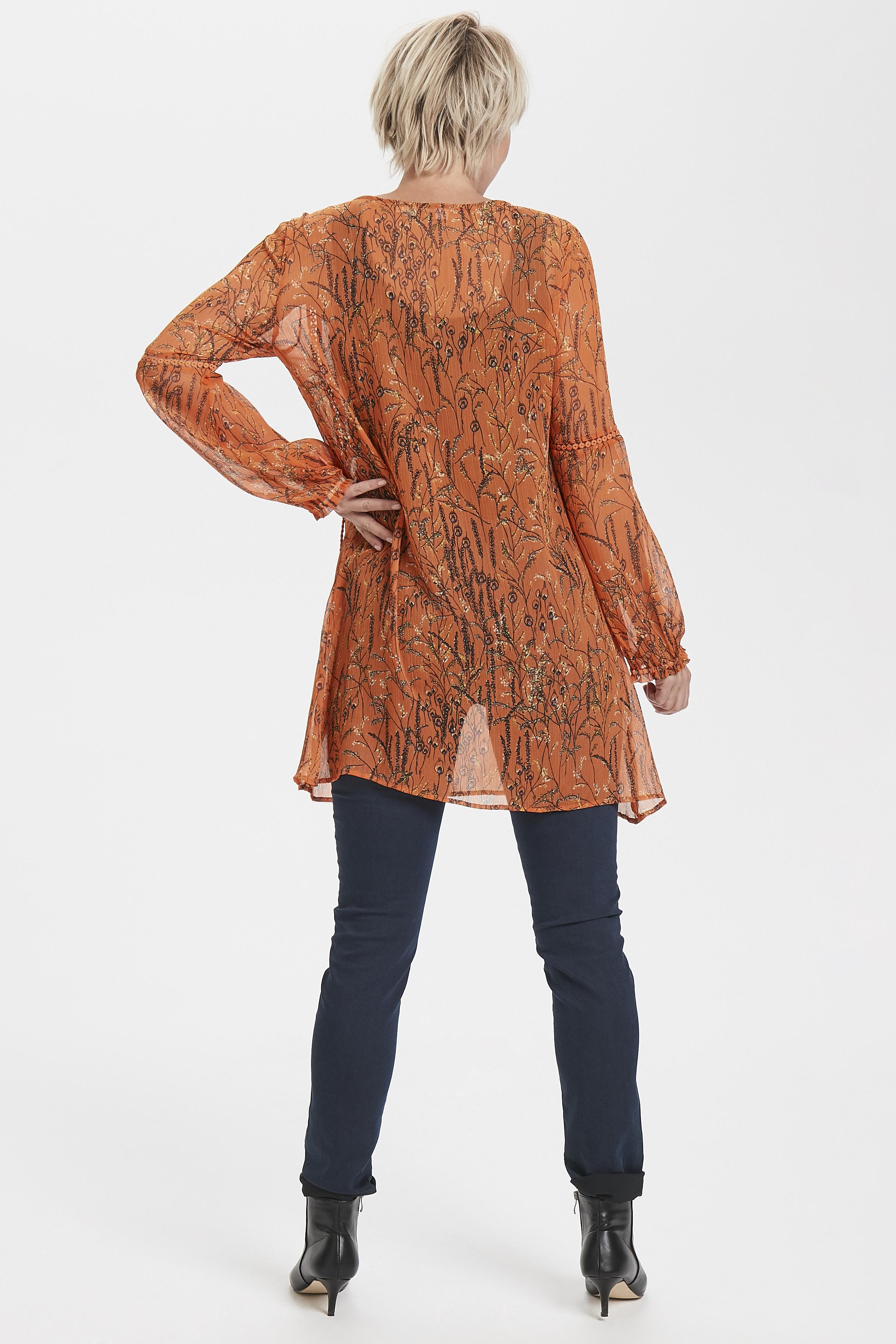 Orange Tunika från Cream – Köp Orange Tunika från stl. 34-46 här