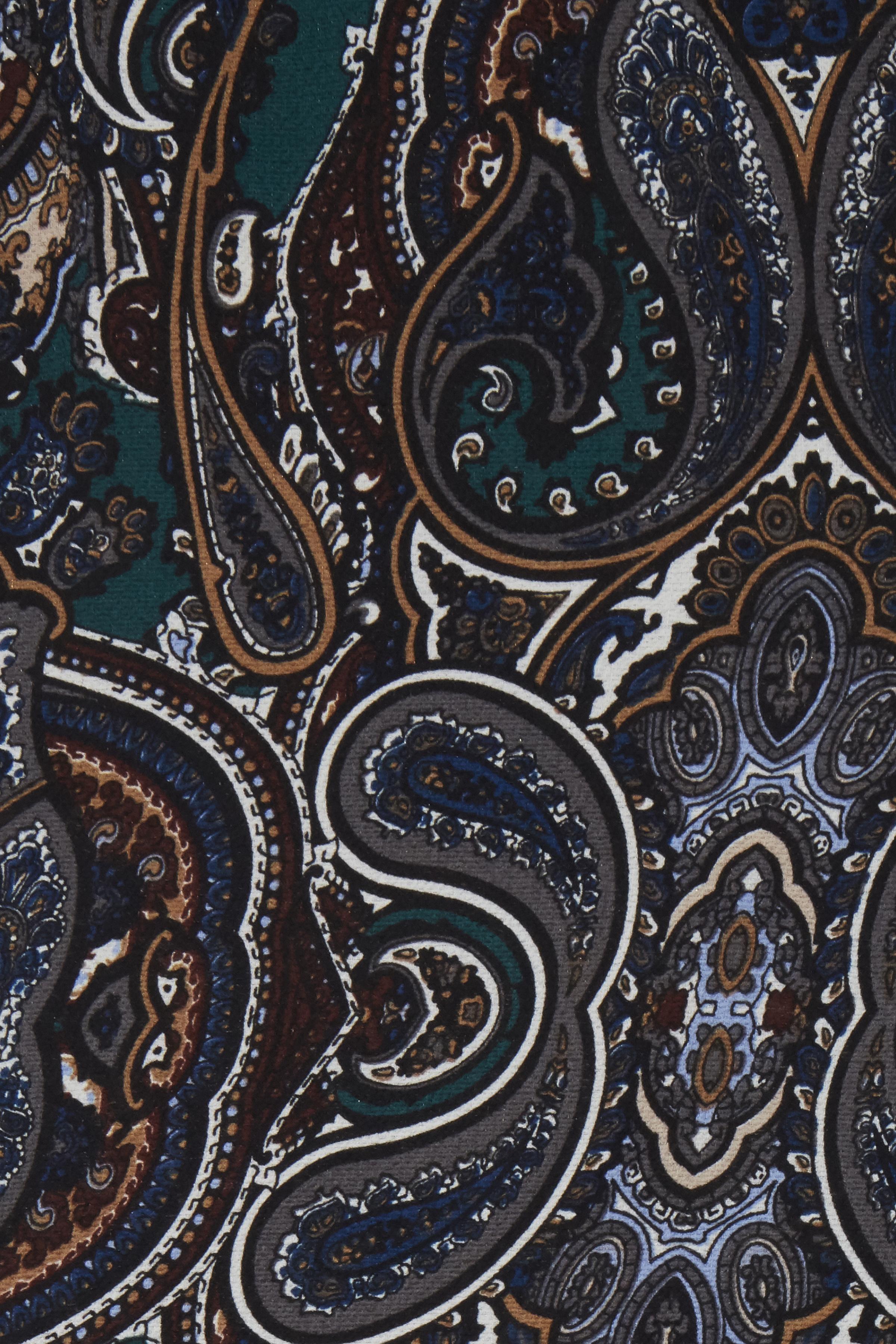 Petrol/sort Casual bukser fra Fransa – Køb Petrol/sort Casual bukser fra str. XS-XXL her