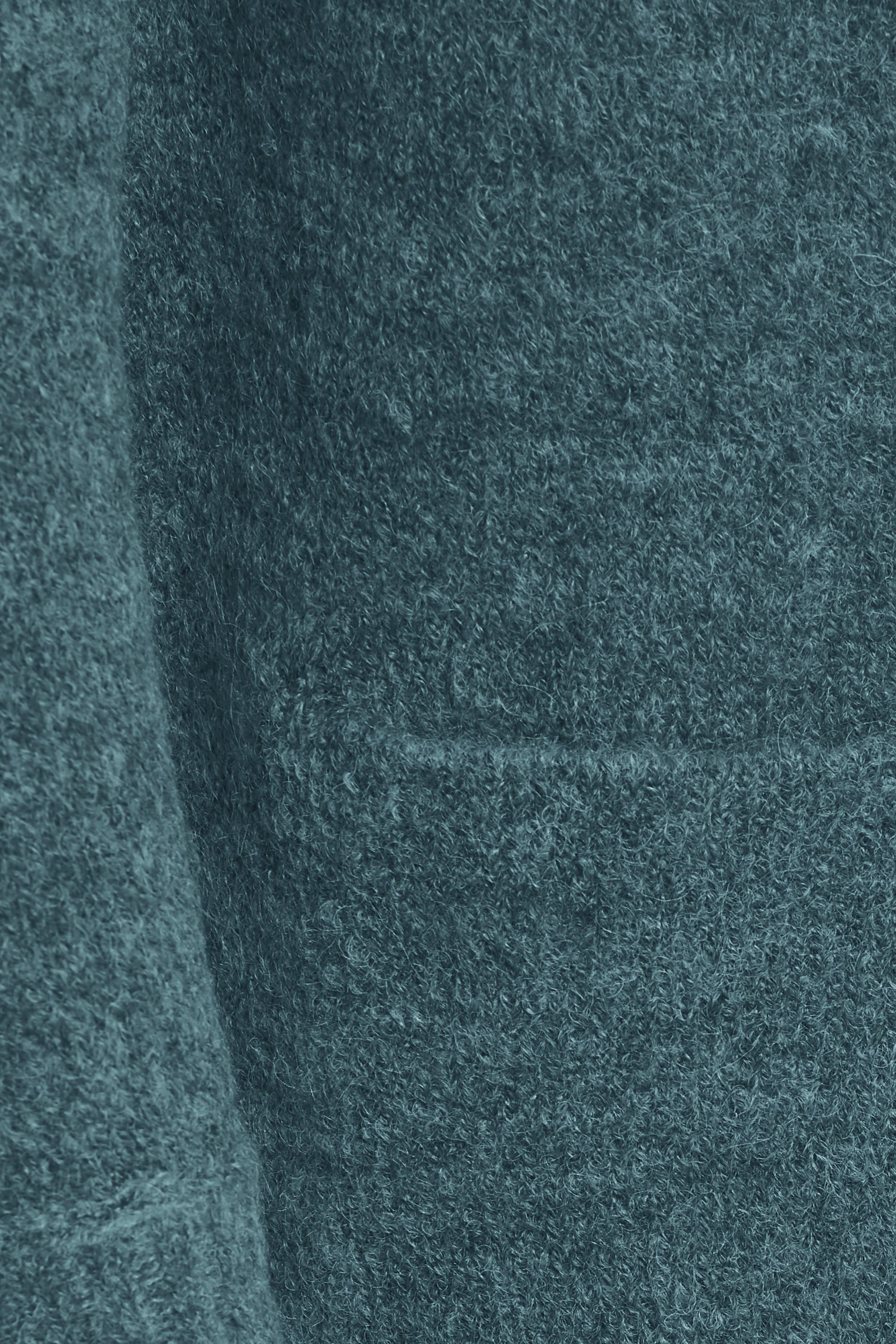 Petroleum melerad Stickad cardigan från Fransa – Köp Petroleum melerad Stickad cardigan från stl. XS-XXL här