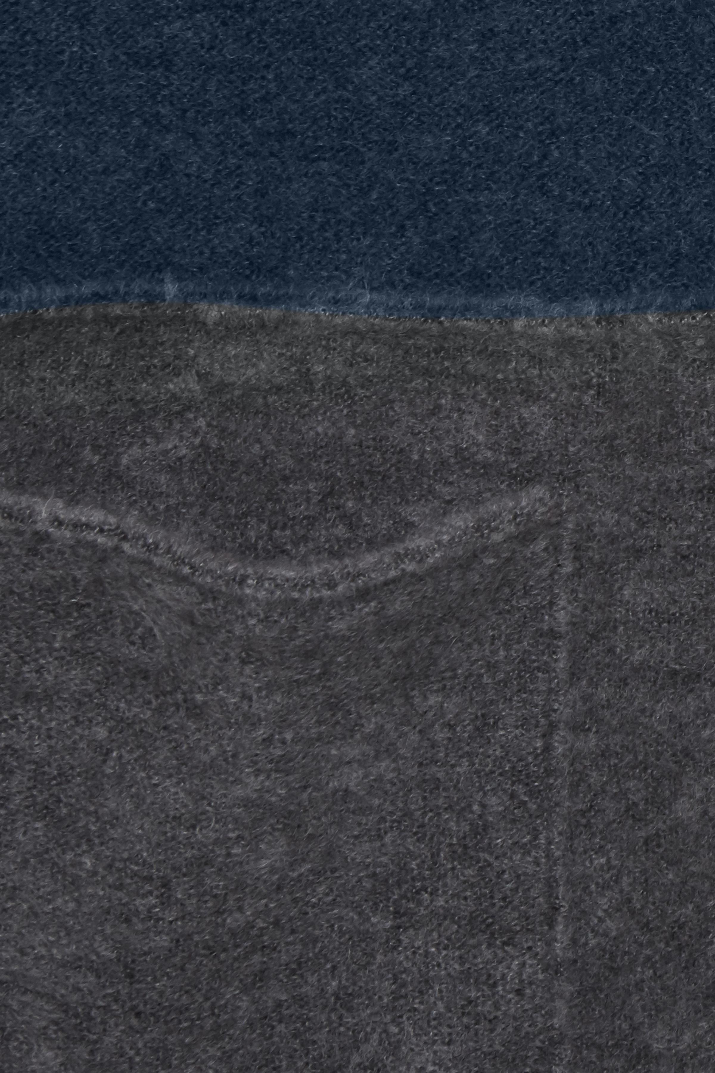 Petroleum/mörkgrå Stickad cardigan från Fransa – Köp Petroleum/mörkgrå Stickad cardigan från stl. XS-XXL här