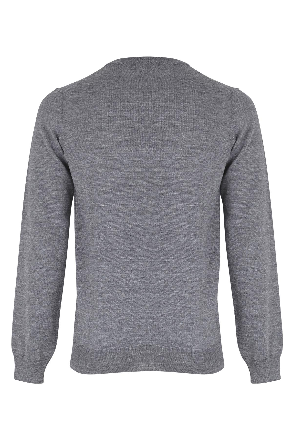 Pewter mix Strikpullover fra Casual Friday – Køb Pewter mix Strikpullover fra str. S-XXL her