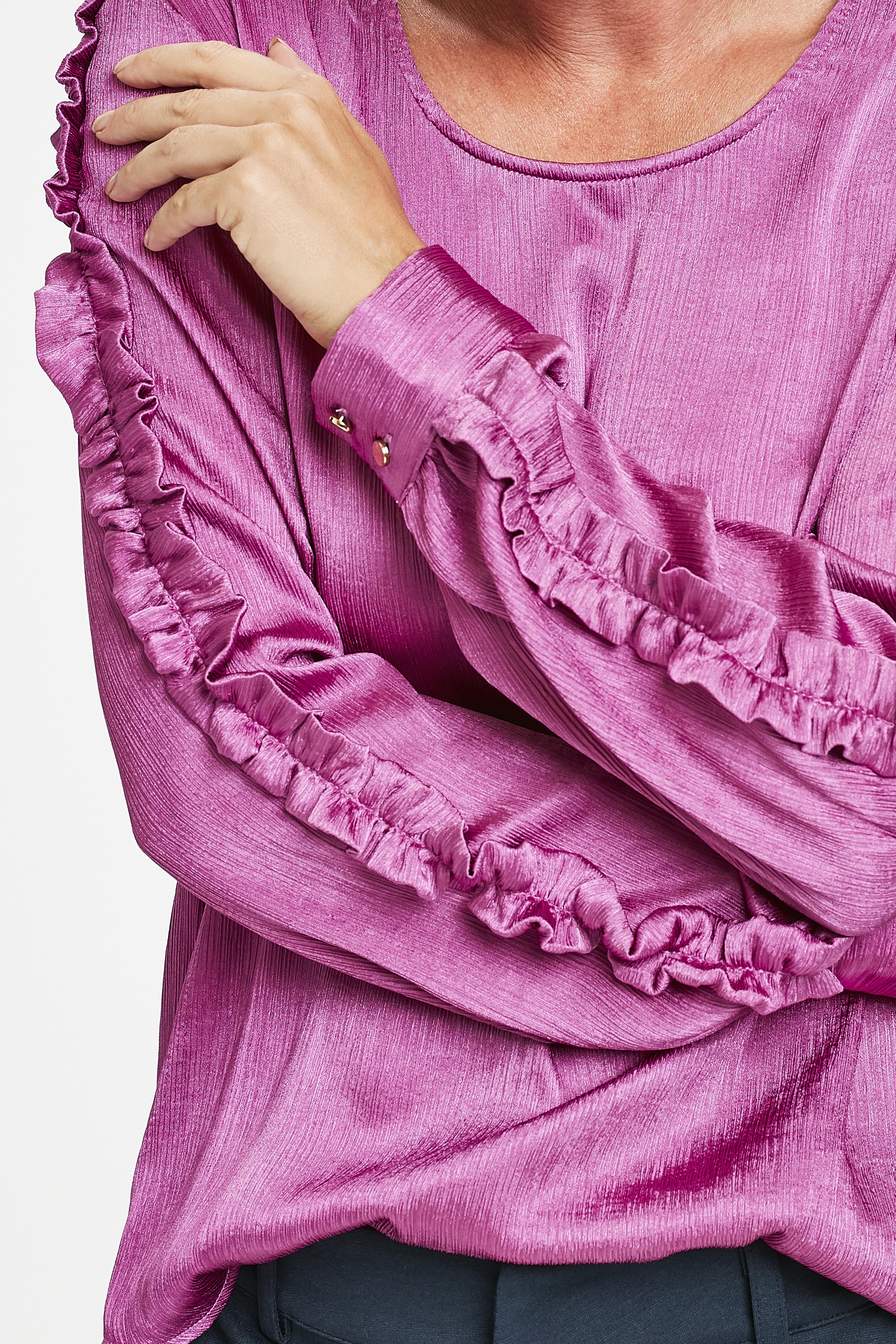 Pink Langarm-Bluse von Kaffe – Shoppen SiePink Langarm-Bluse ab Gr. 34-46 hier