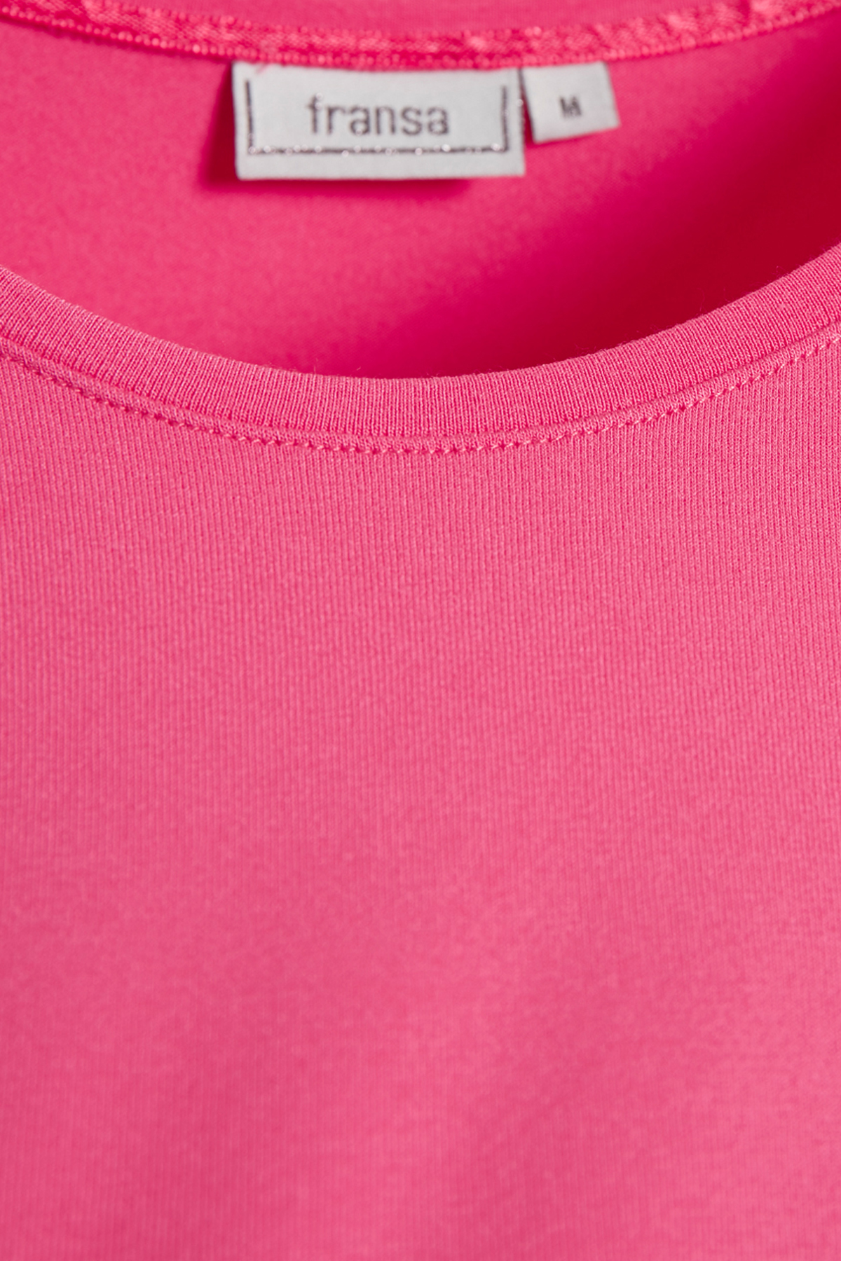Pink Langarm T-Shirt von Fransa – Shoppen Sie Pink Langarm T-Shirt ab Gr. XS-XXL hier
