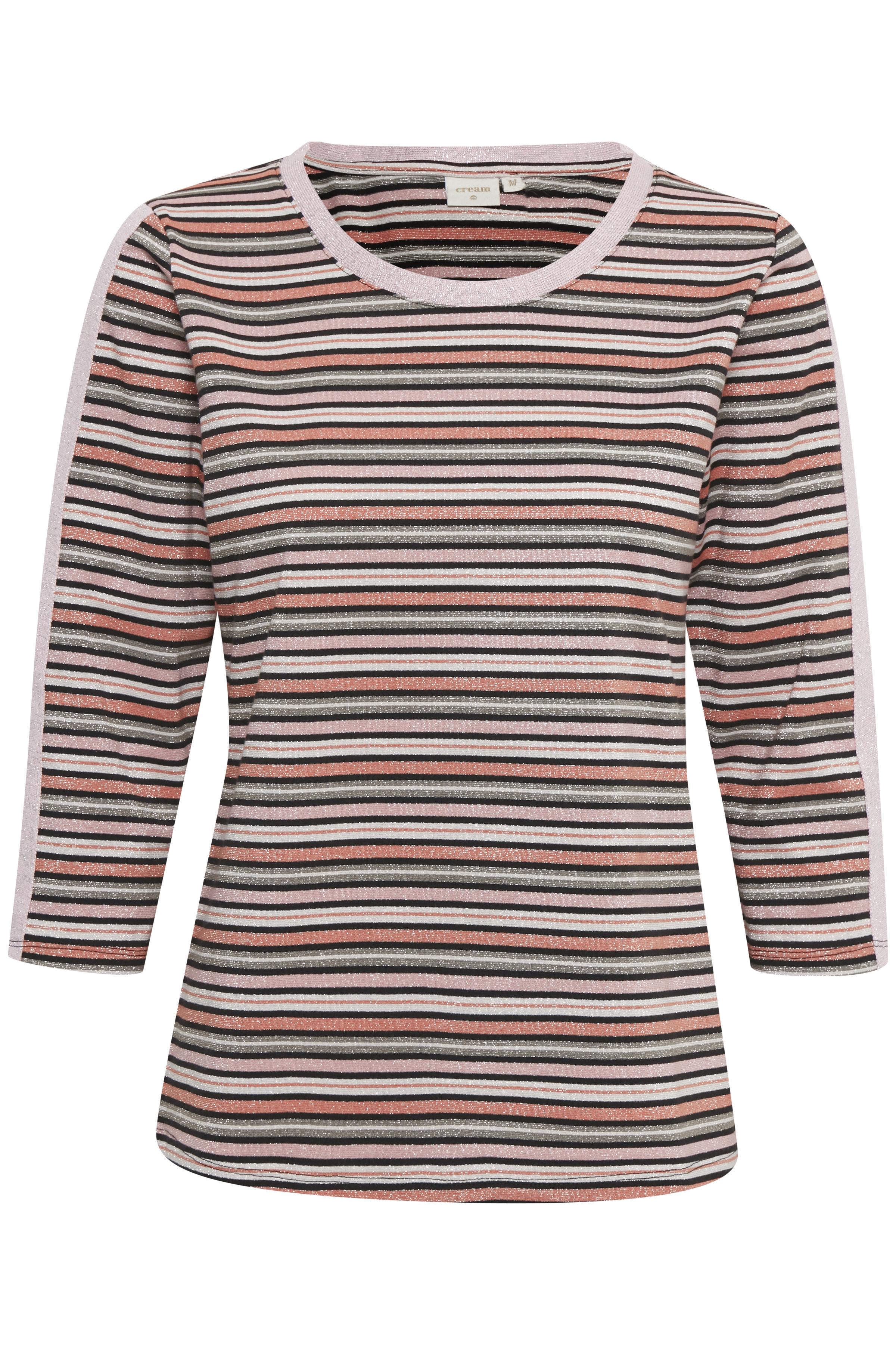 Pink/rosa Kortærmet bluse  fra Cream – Køb Pink/rosa Kortærmet bluse  fra str. XS-XXL her