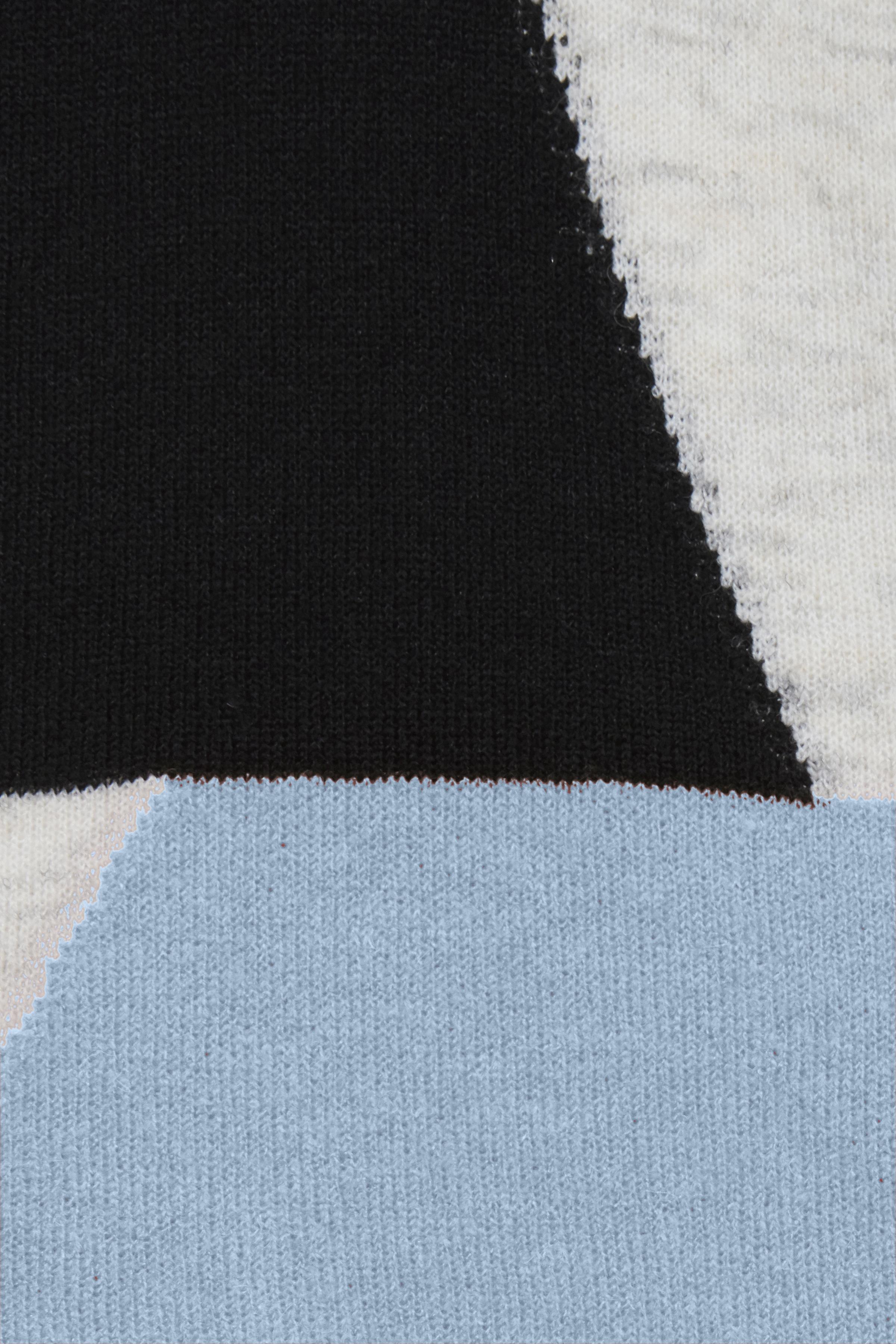 Placid Blue melange Strikpullover fra Fransa – Køb Placid Blue melange Strikpullover fra str. XS-XXL her