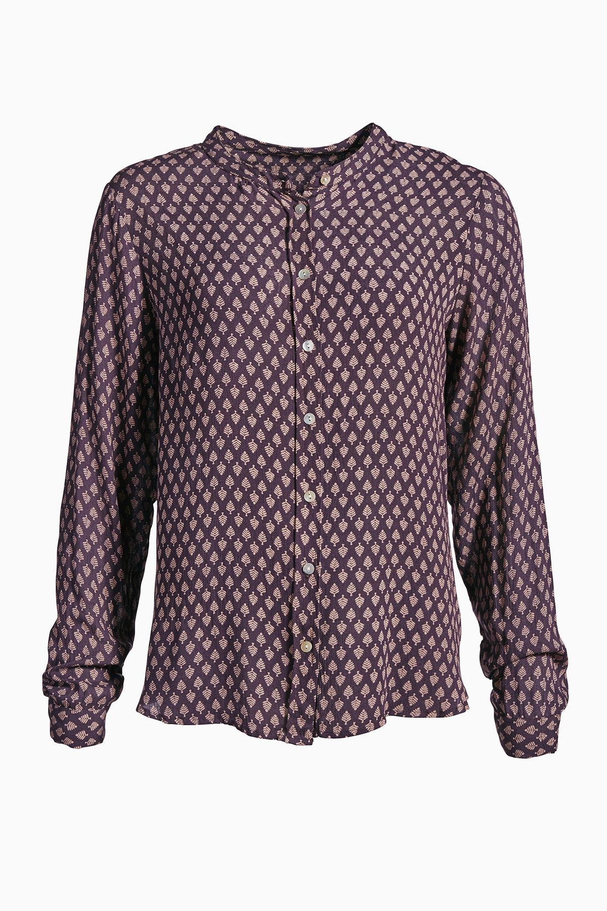 Plum Perfect Langærmet skjorte fra Kaffe – Køb Plum Perfect Langærmet skjorte fra str. 34-46 her