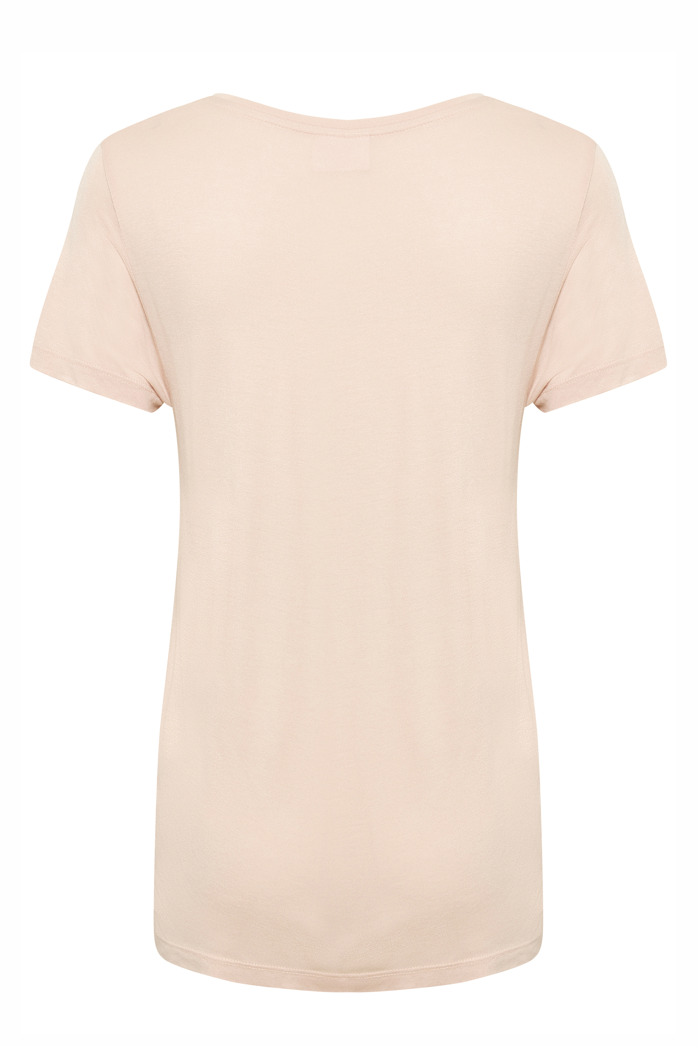 Pudder Kortærmet T-shirt fra Kaffe – Køb Pudder Kortærmet T-shirt fra str. XS-XXL her