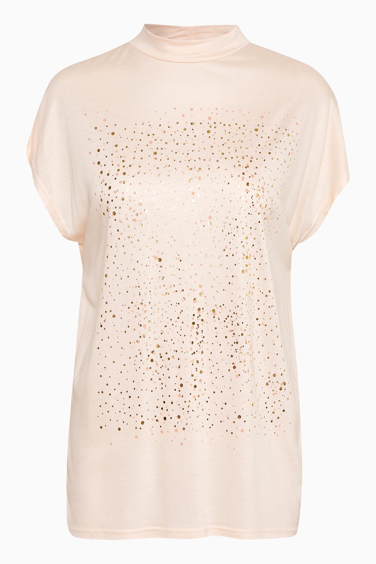 Puder Kurzarm T-Shirt von Kaffe – Shoppen Sie Puder Kurzarm T-Shirt ab Gr. XS-XXL hier