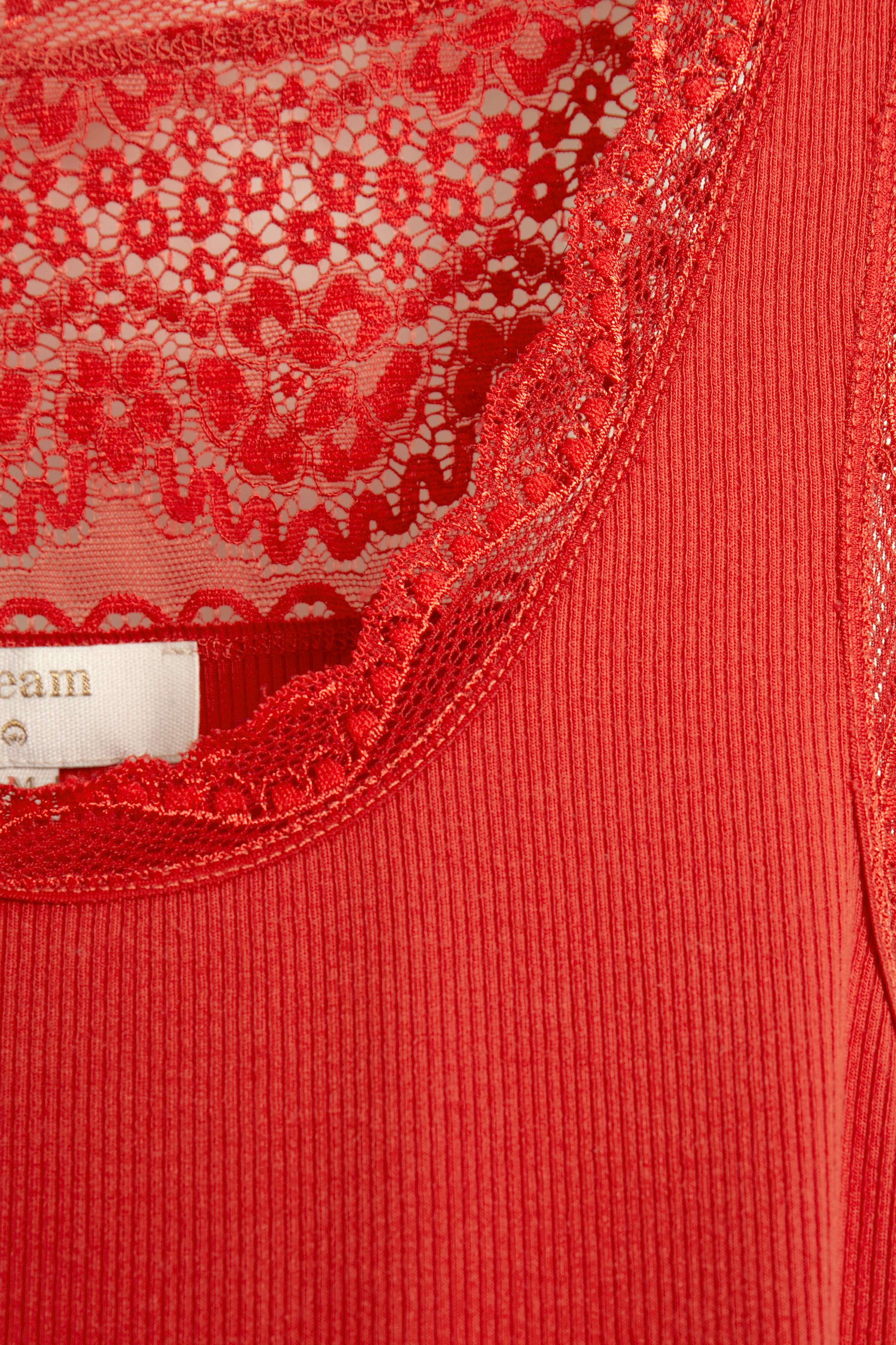 Rød Ærmeløs top fra Cream – Køb Rød Ærmeløs top fra str. XS-XXL her